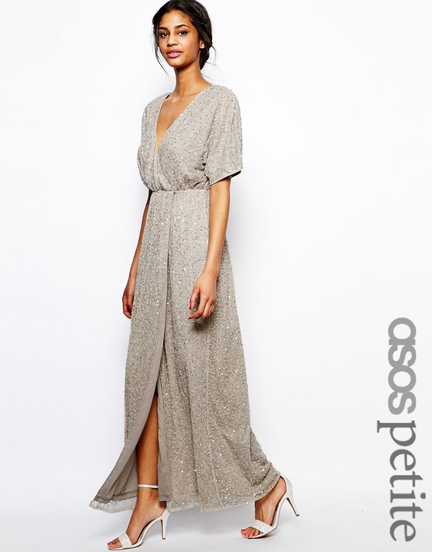 095136f7c935 Petite Full Sleeve Maxi Dresses