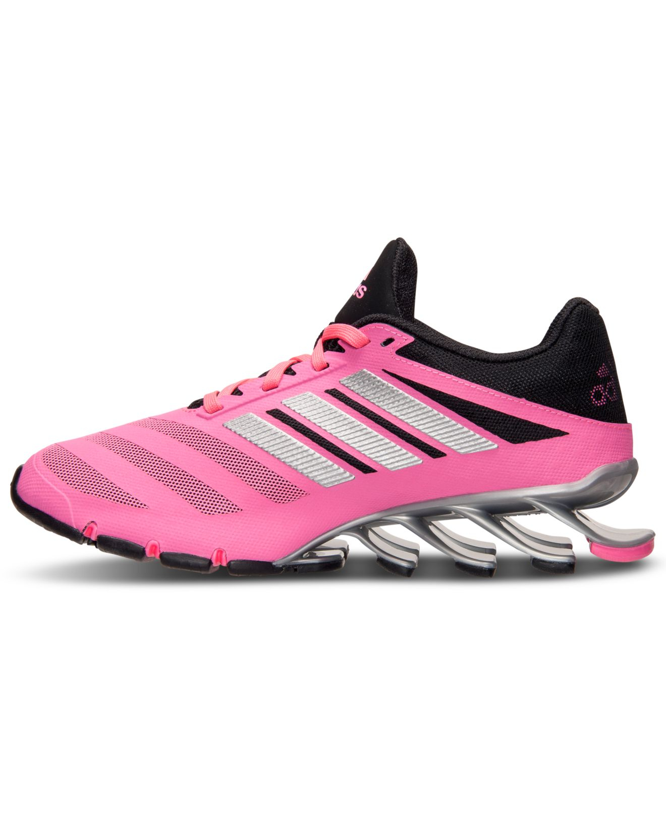 the latest d3206 dc485 ... adidas springblade ignite pink silver .