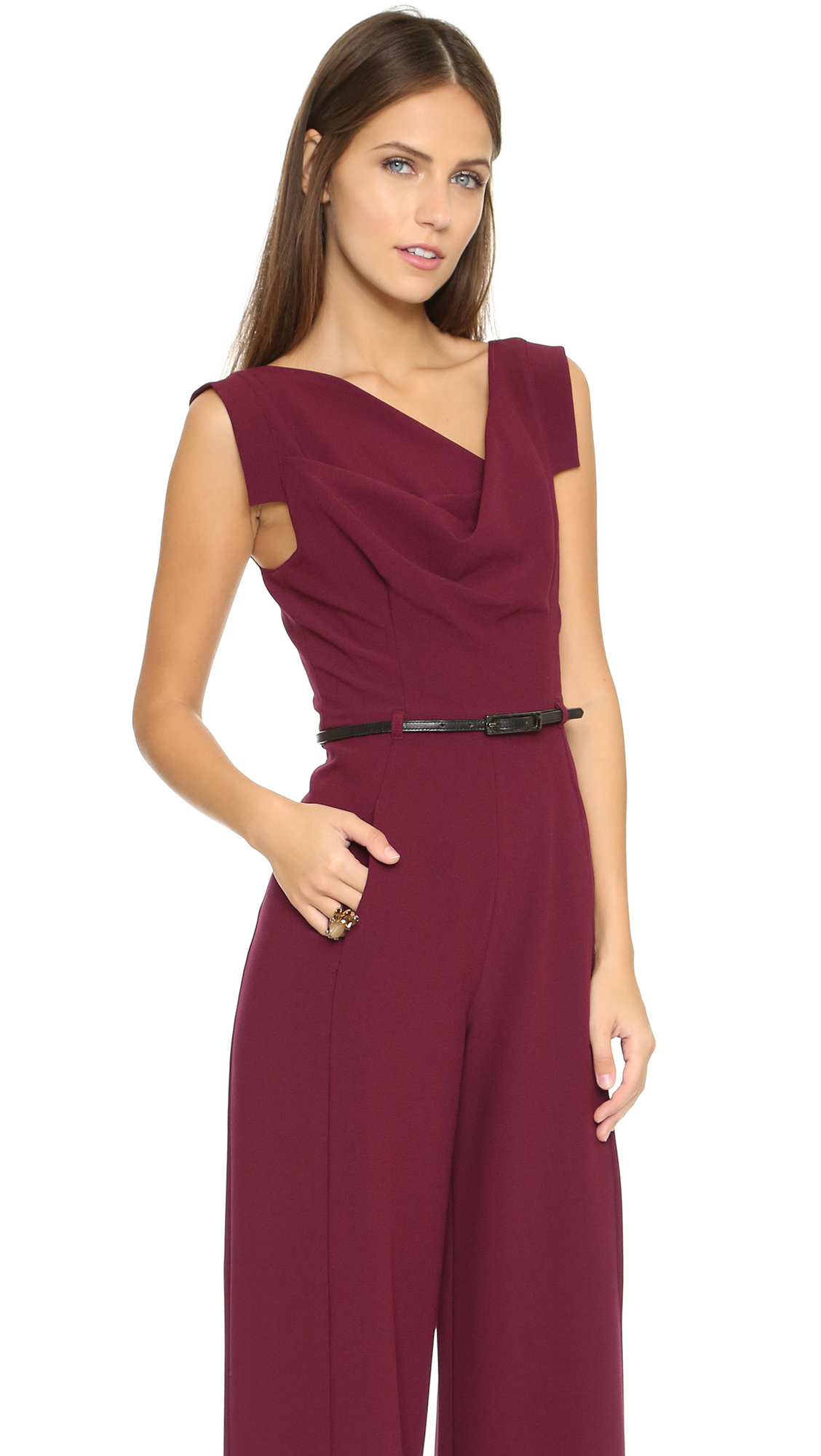 4cae55e55daa Gallery. Previously sold at  Shopbop · Women s Black Jumpsuits ...