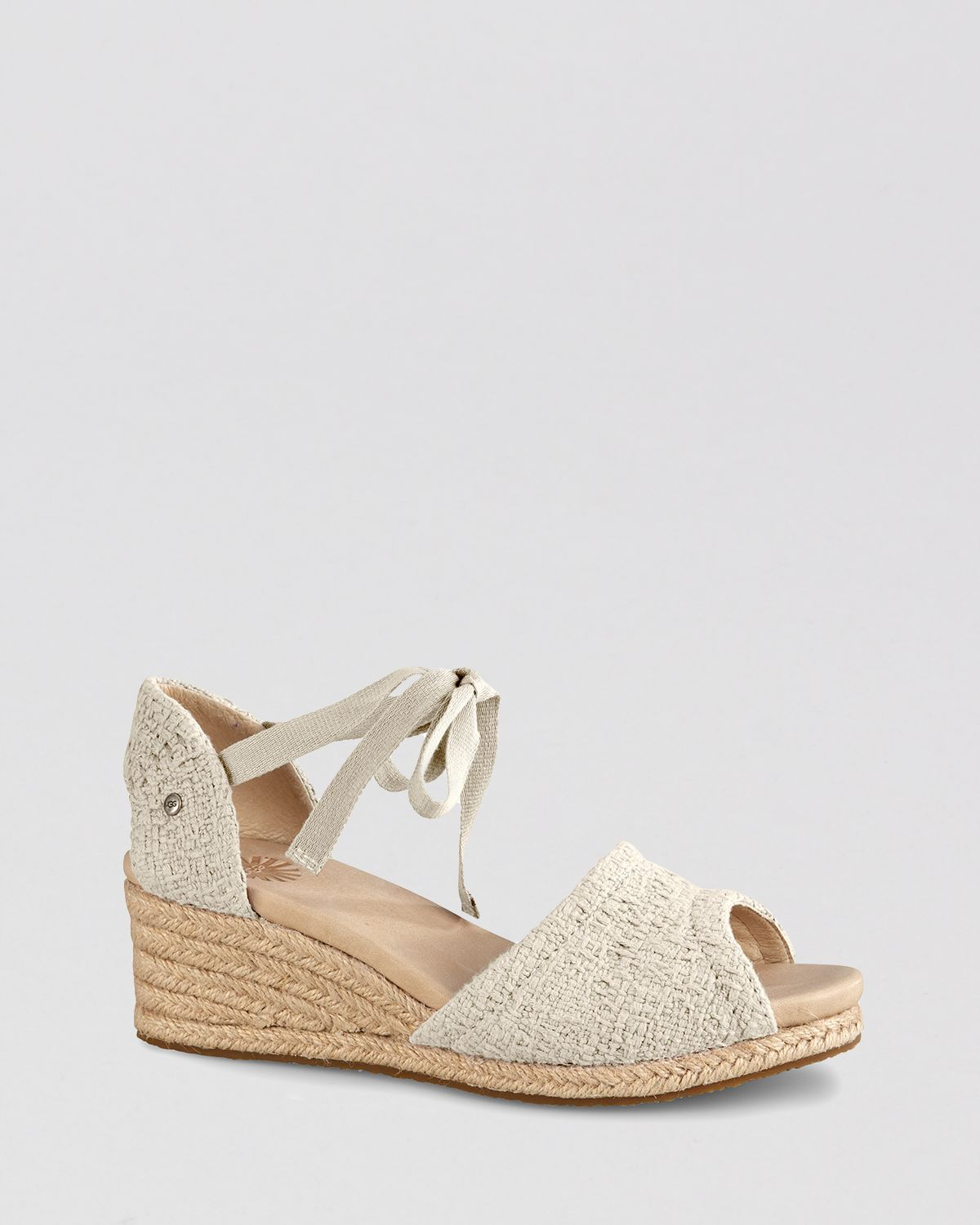 3a1eb99e2da Gallery. Previously sold at  Bloomingdale s · Women s Ugg Espadrilles  Women s Yellow Wedge ...
