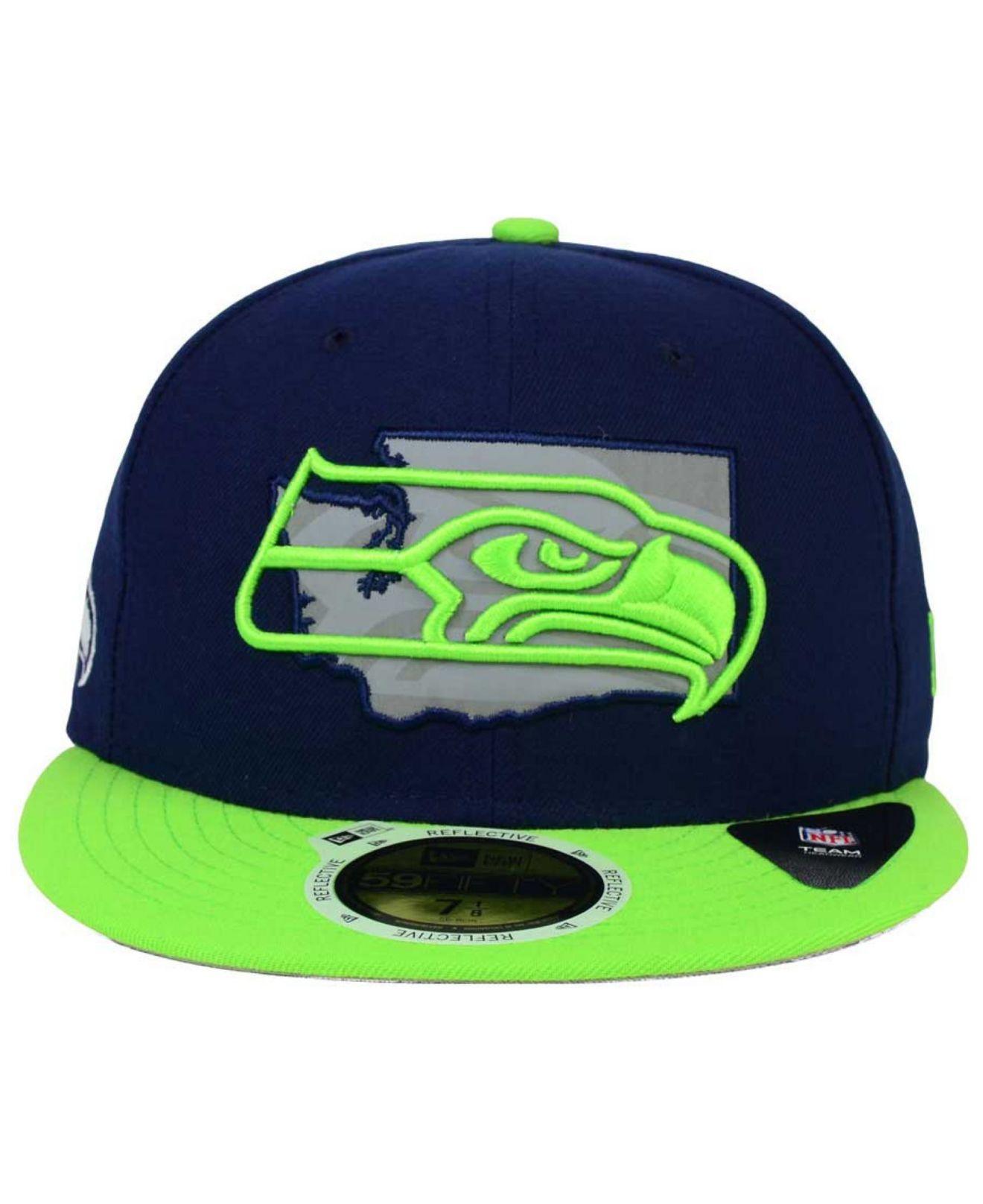 e27f6ff9e73 closeout lyst ktz seattle seahawks state flective redux 59fifty cap buying  cheap d0a08 14f0a new era