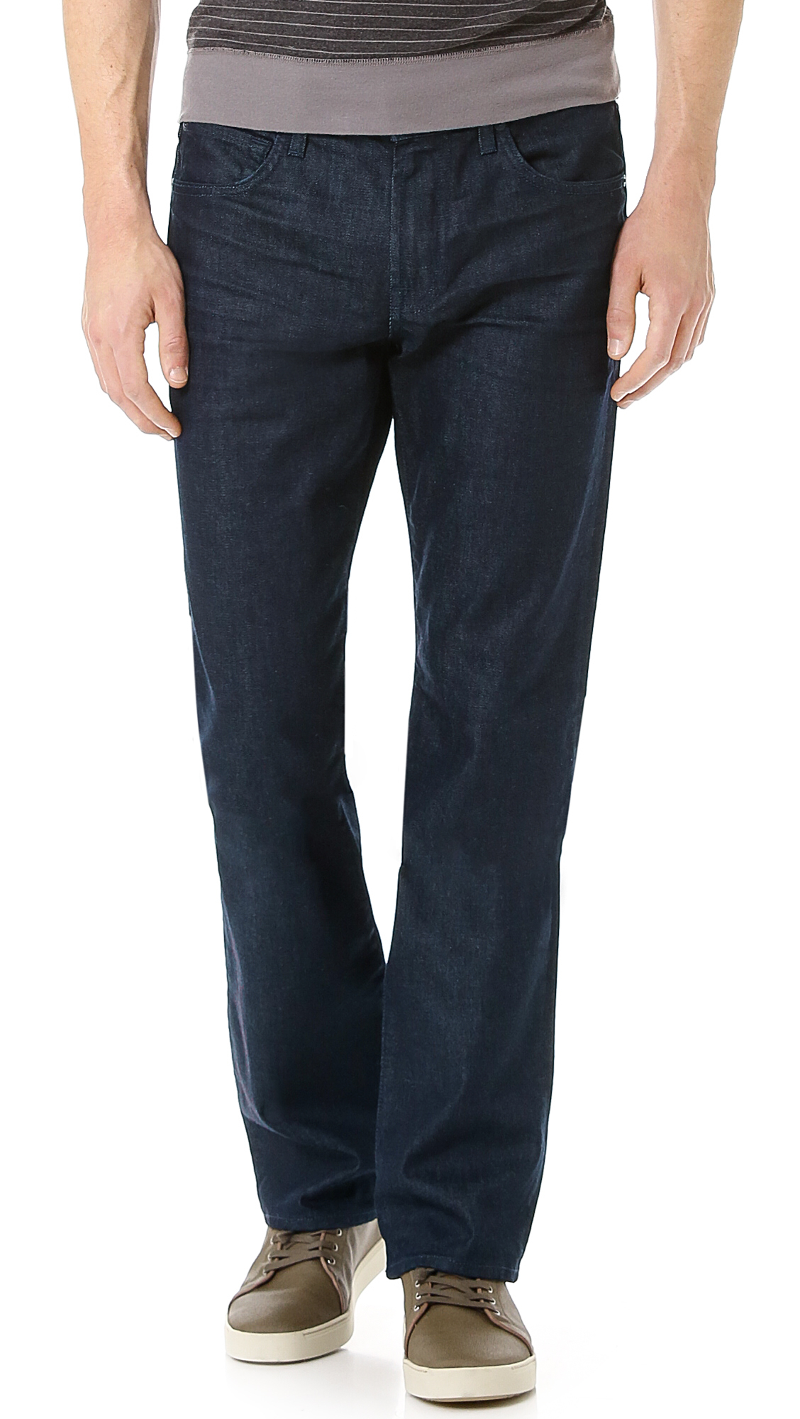 lyst 7 for all mankind carsen easy fit jeans in blue for men. Black Bedroom Furniture Sets. Home Design Ideas