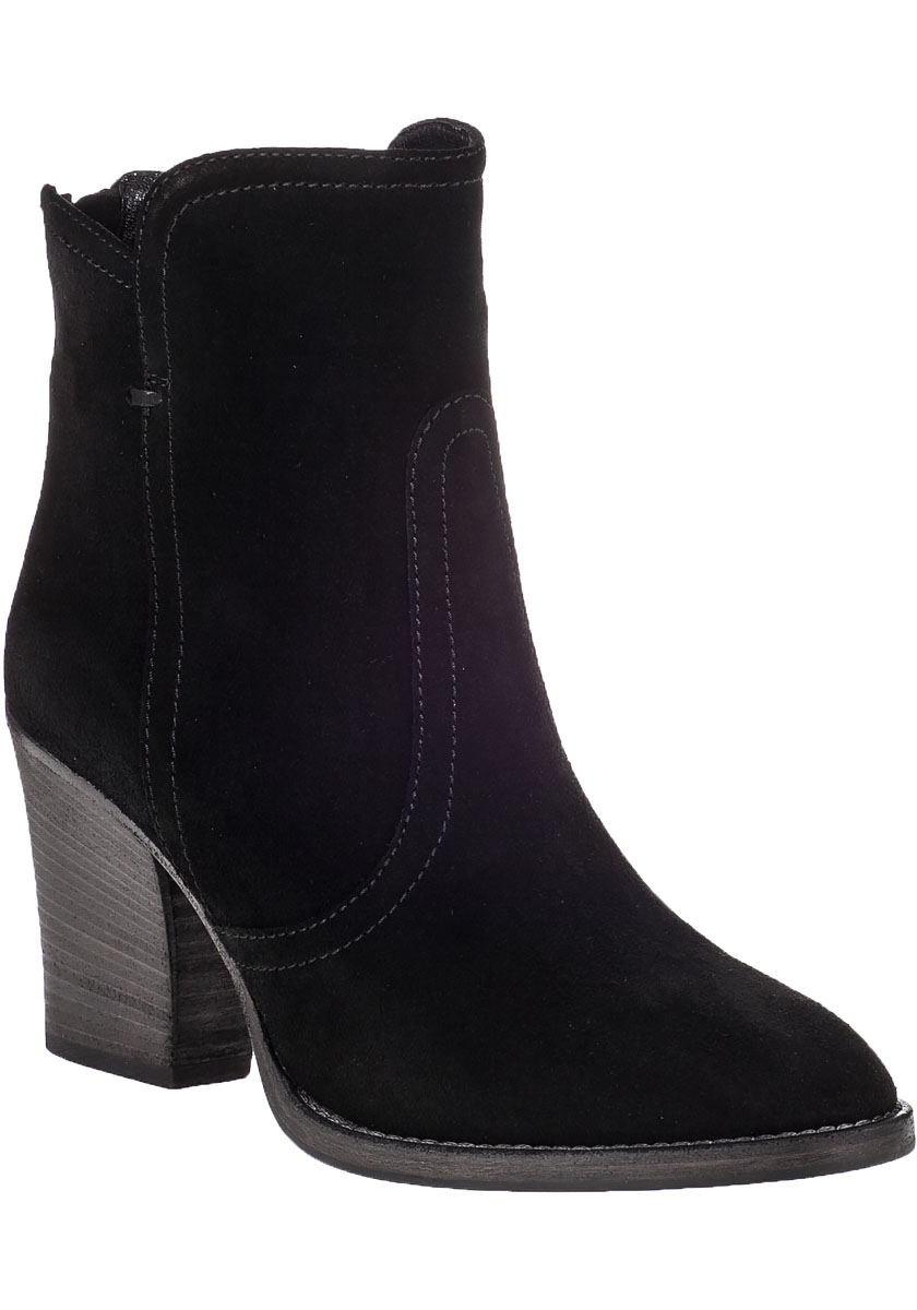 aquatalia dina suede ankle boots in black lyst