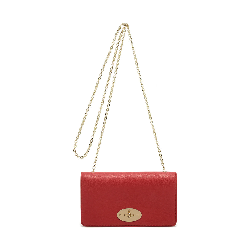 a49dafc4e2 Lyst - Mulberry Bayswater Clutch Wallet in Red