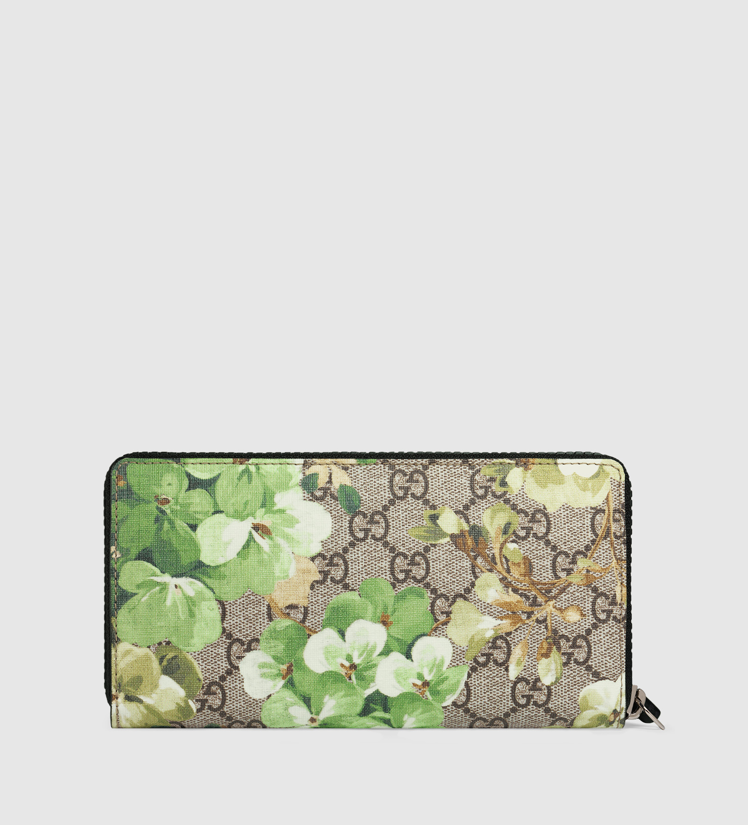 d7d269c7ae5251 Gucci Gg Blooms Zip Around Wallet Green | Stanford Center for ...