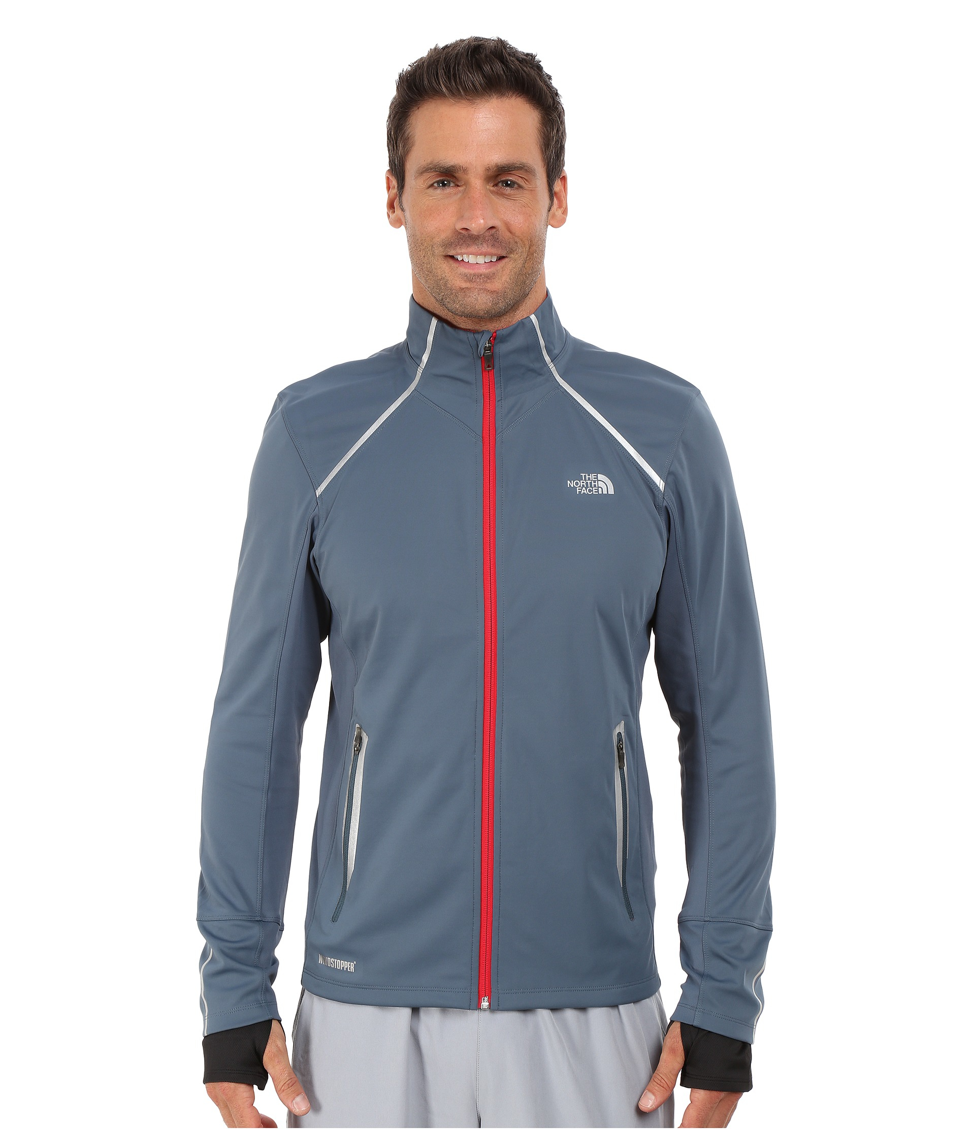 lyst the north face isotherm jacket in blue for men rh lyst com