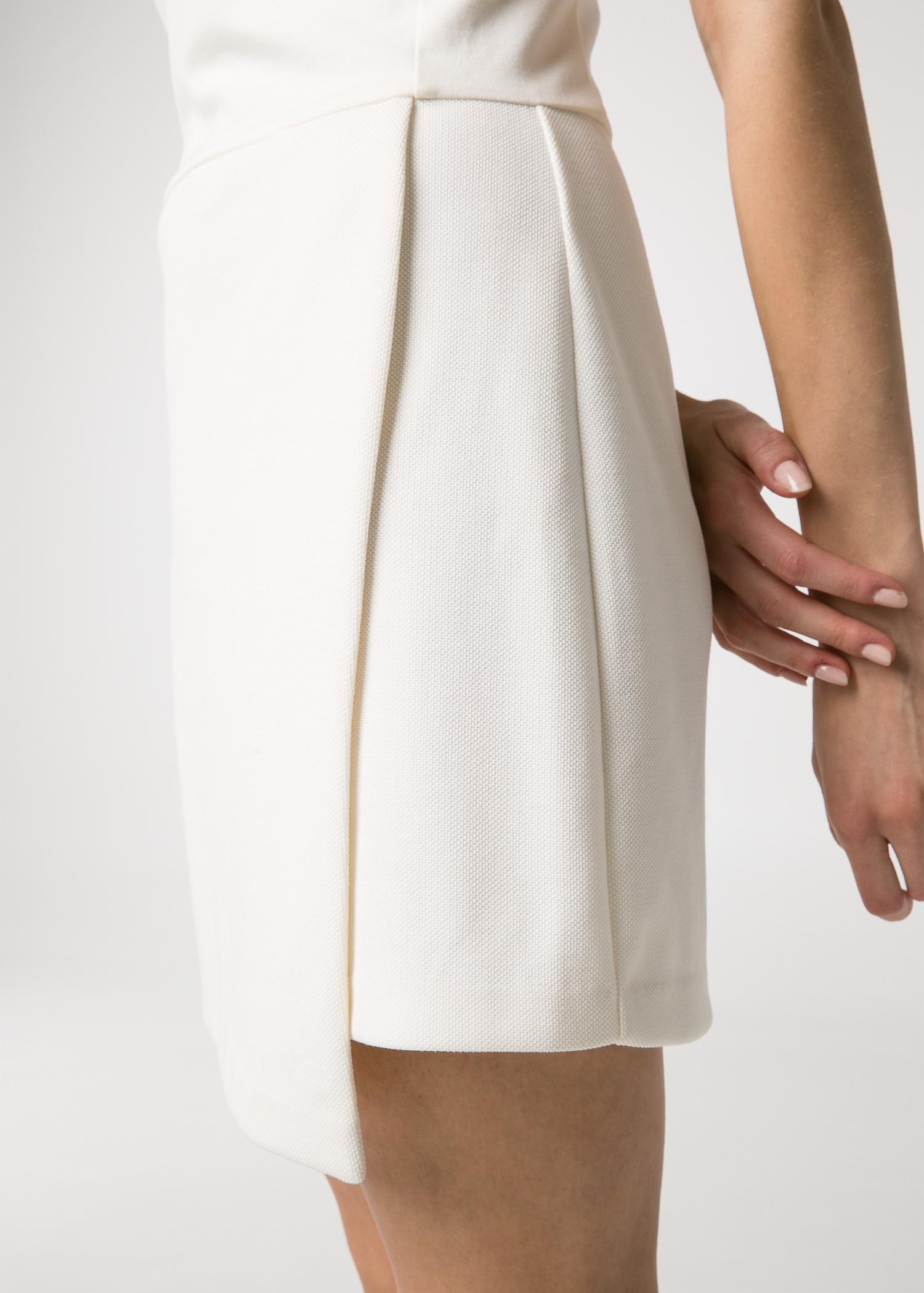 Lyst Mango Wrap Skirt Dress In White