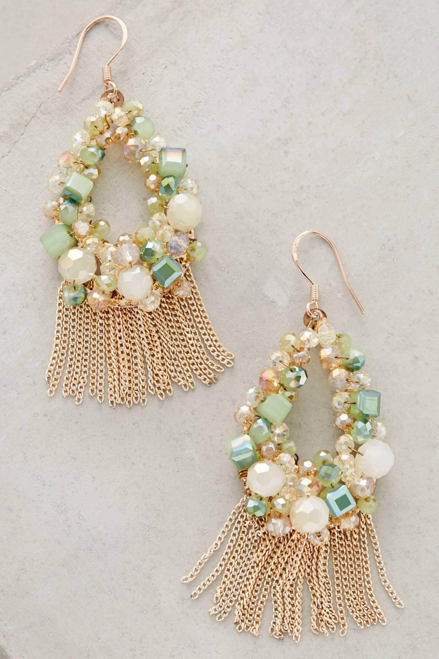 Mishky Fiori Wreath Earrings f59ATXVgc7