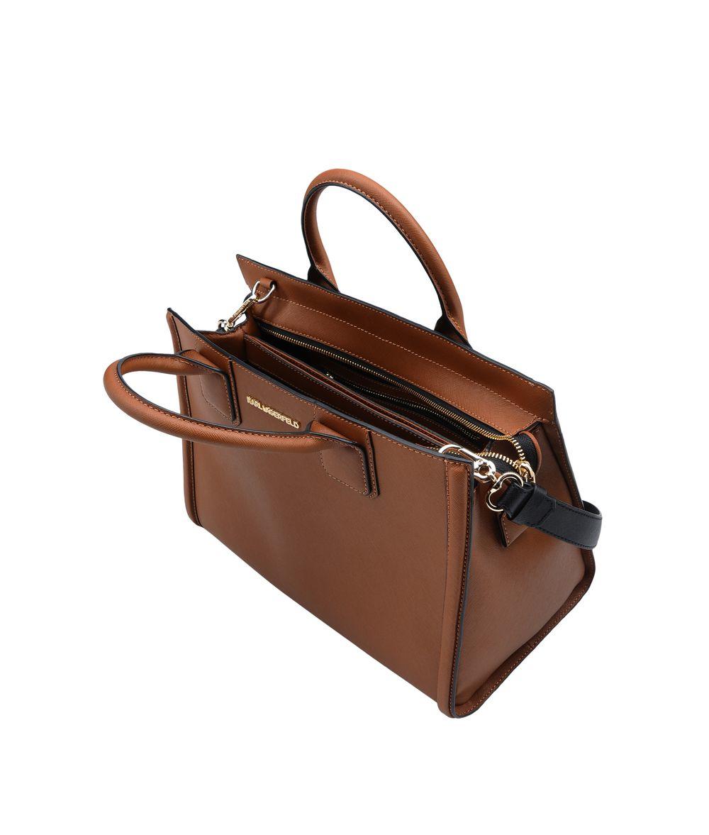 bde4d43d6dcd Lyst - Karl Lagerfeld K klassik Tote in Brown