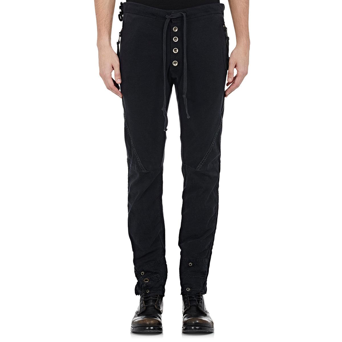 Gallery  sc 1 st  Lyst & Lyst - Greg lauren Menu0027s Tent Gl1 Pants in Black for Men