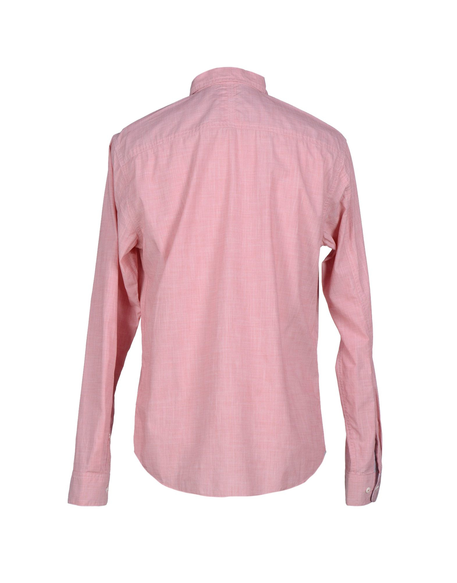 Lyst timberland shirt in pink for men for Mens pink shirts uk