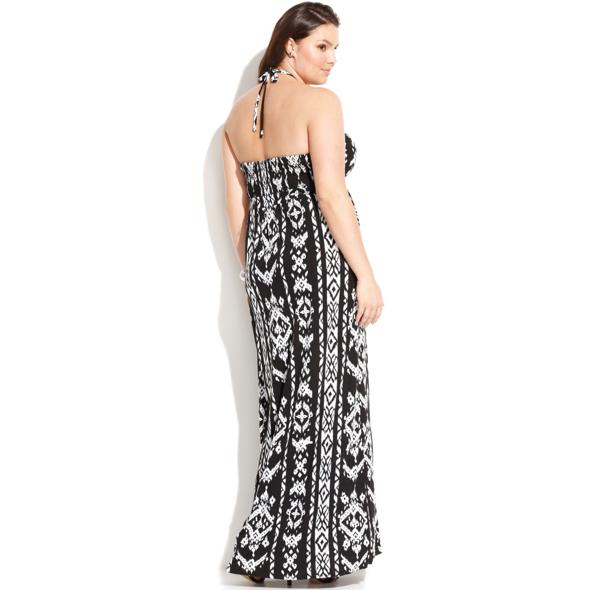 d3545745b2d6d Lyst - INC International Concepts Plus Size Embellished Printed ...