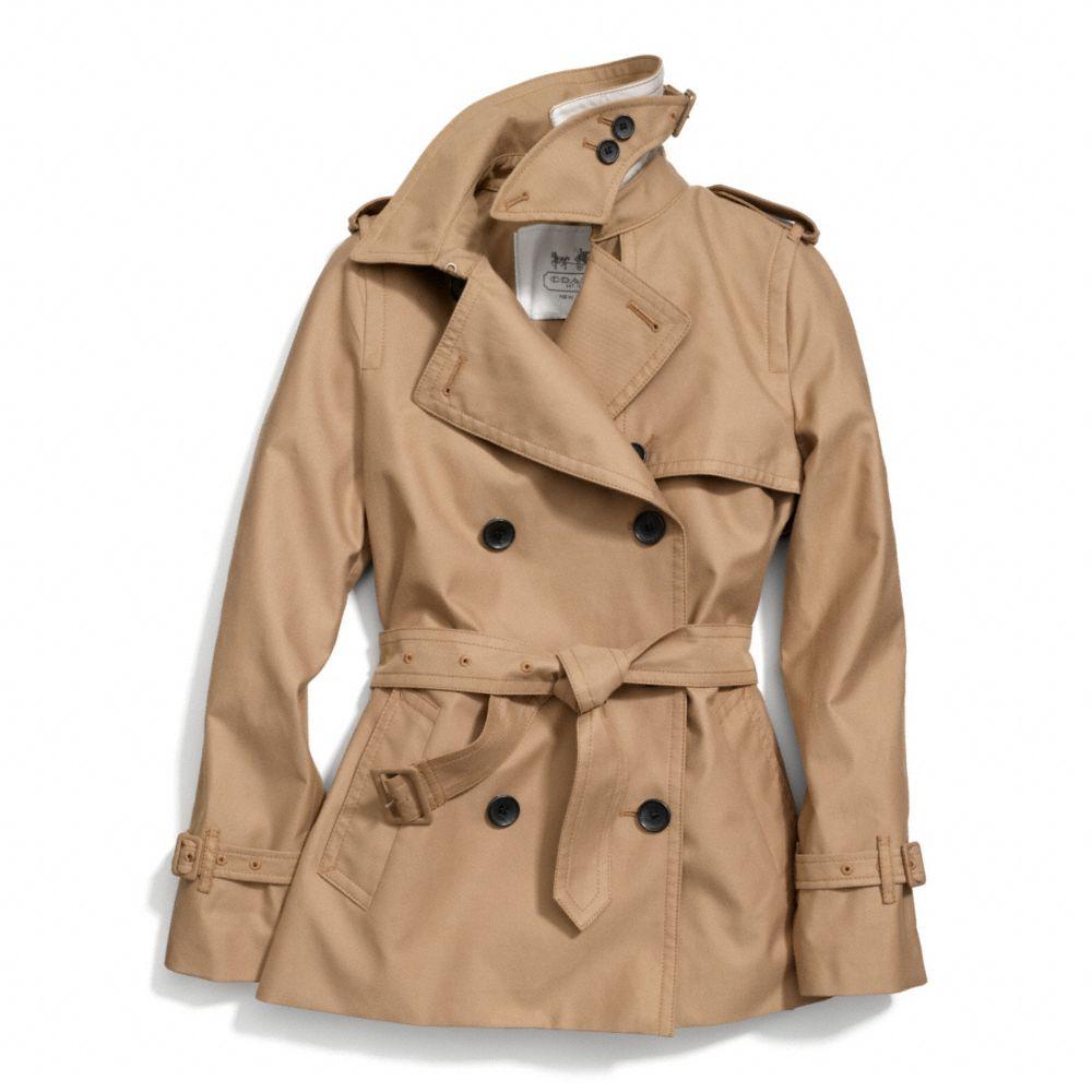 Short trench coat women