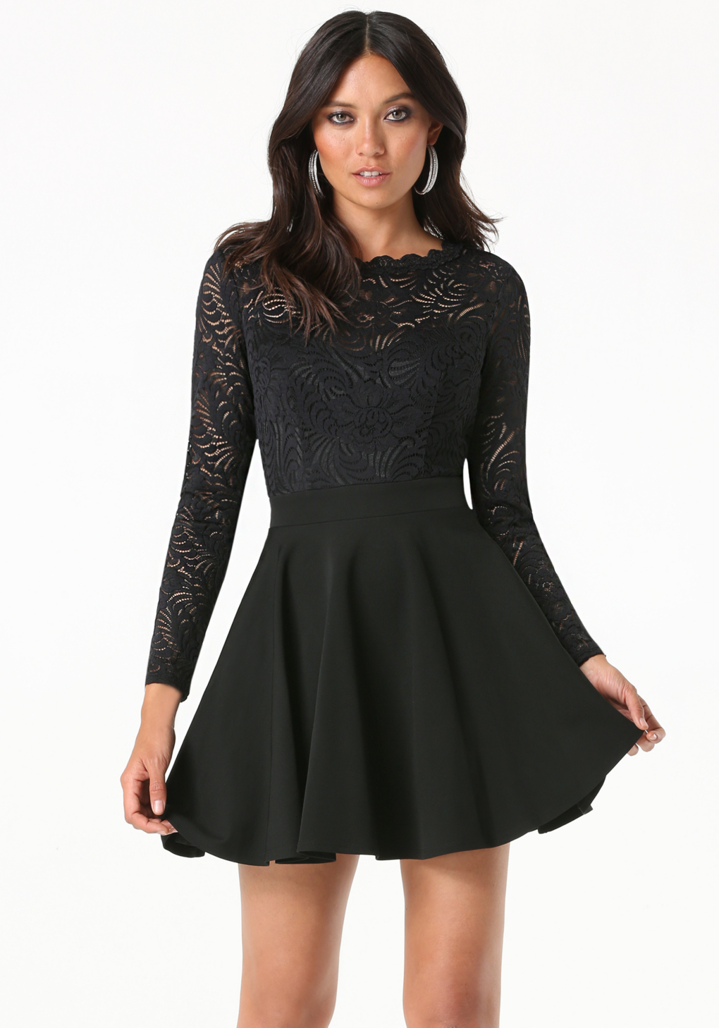 Prada Lace Backless Cocktail Dress