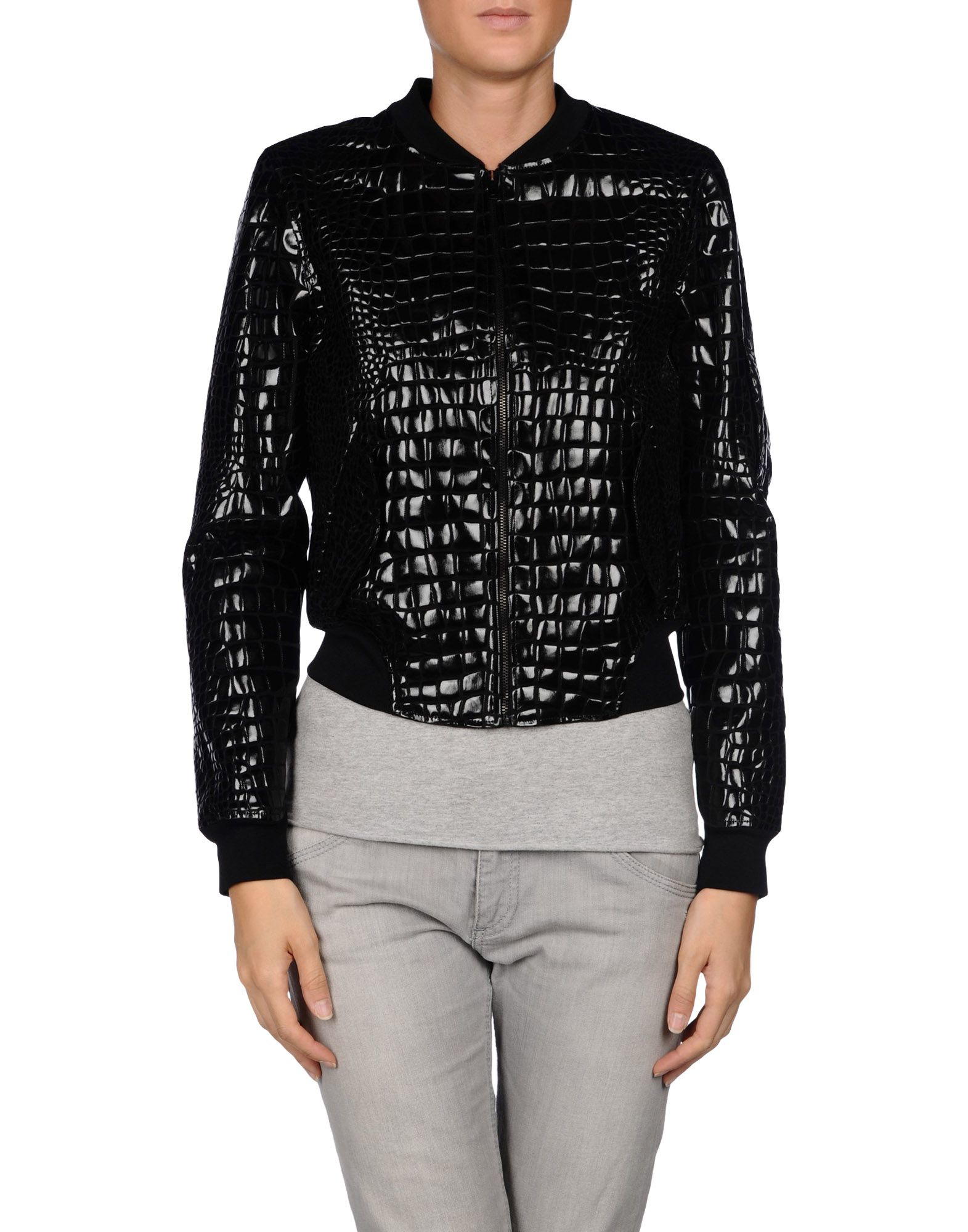 Lyst mm6 by maison martin margiela jacket in black for Mm6 maison martin margiela