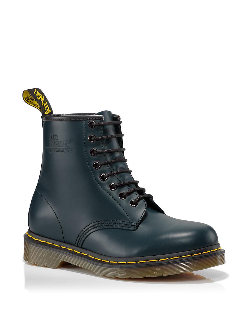 dr martens 1460 leather boot in blue for men lyst. Black Bedroom Furniture Sets. Home Design Ideas