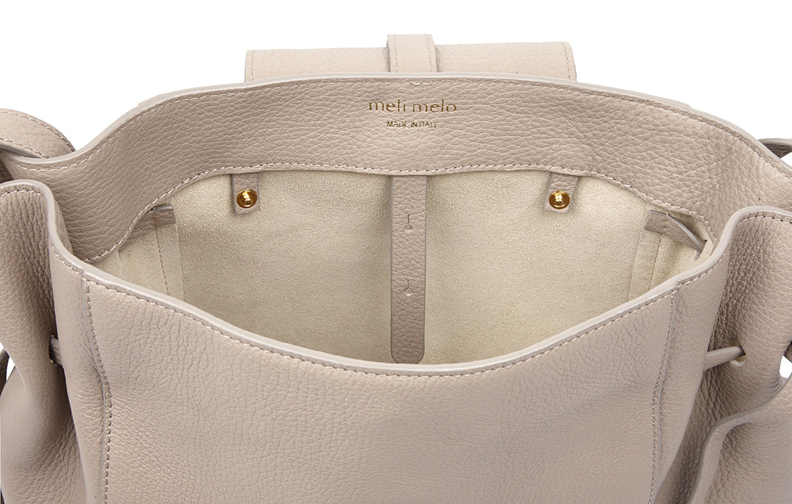 a4e03d815df0 Lyst - meli melo Fleming Medium Tote Bag Taupe in Gray