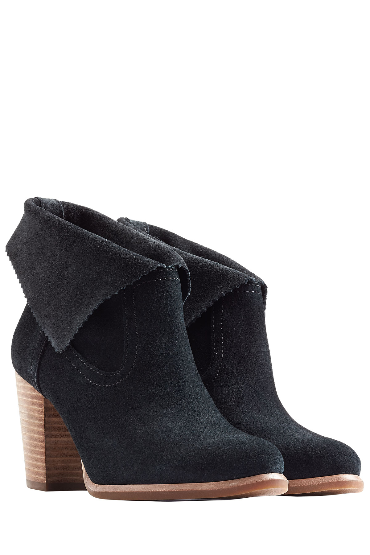 Womens Boots UGG Thames Black Suede