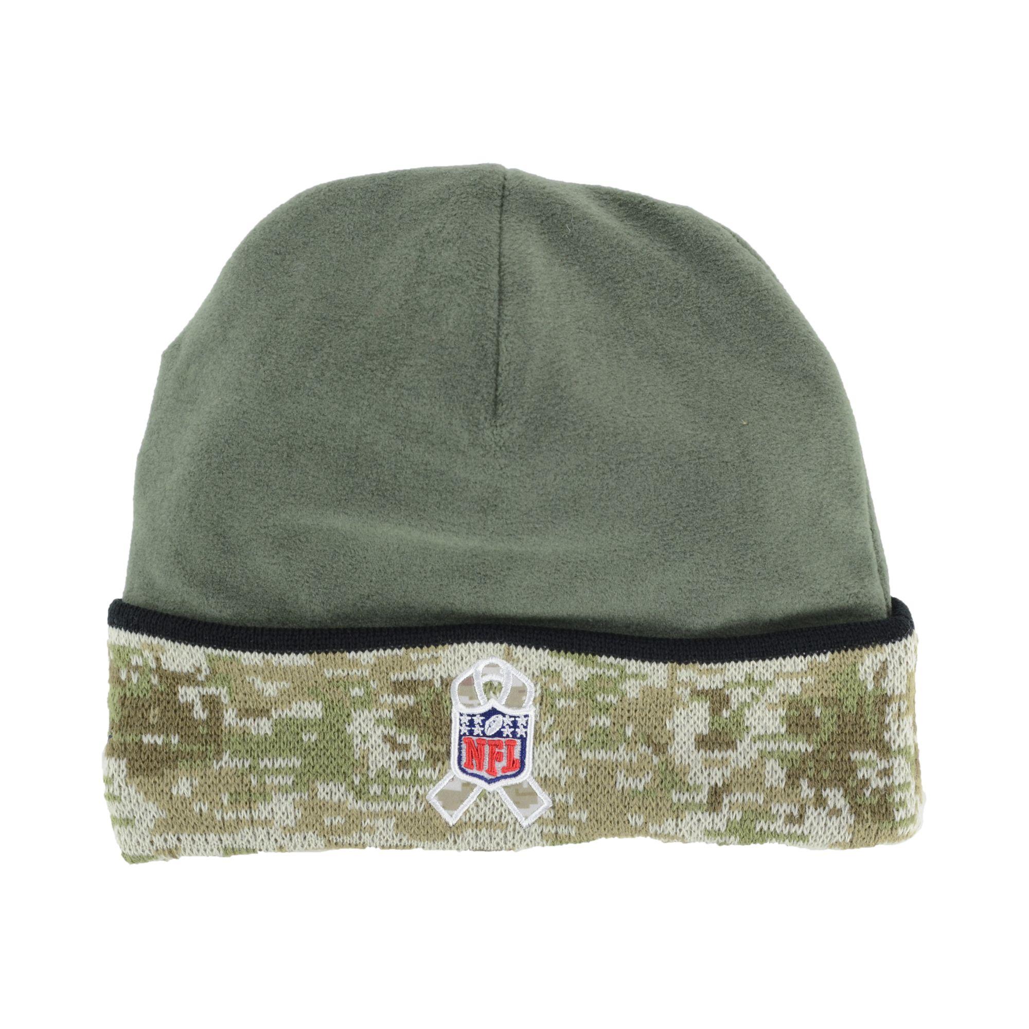 Lyst - KTZ New Orleans Saints Salute To Service Knit Hat in Green ... 6de854e36
