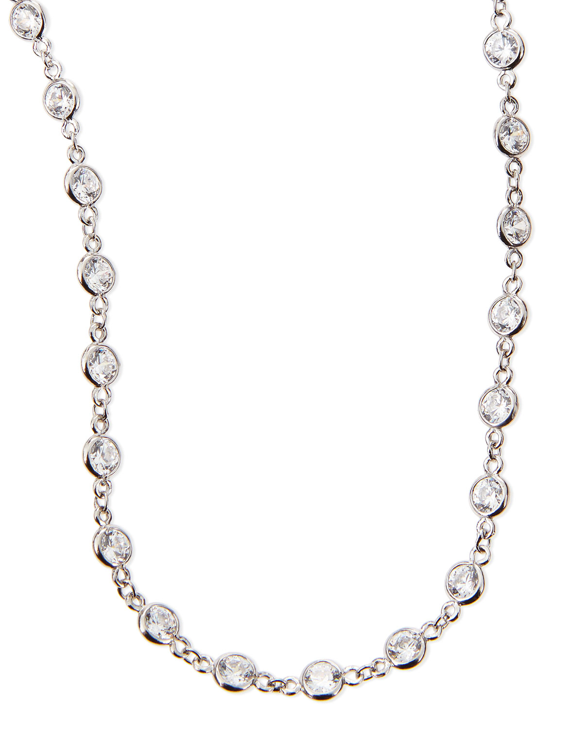 Fantasia Cubic Zirconia By-the-Yard Necklace, 72L