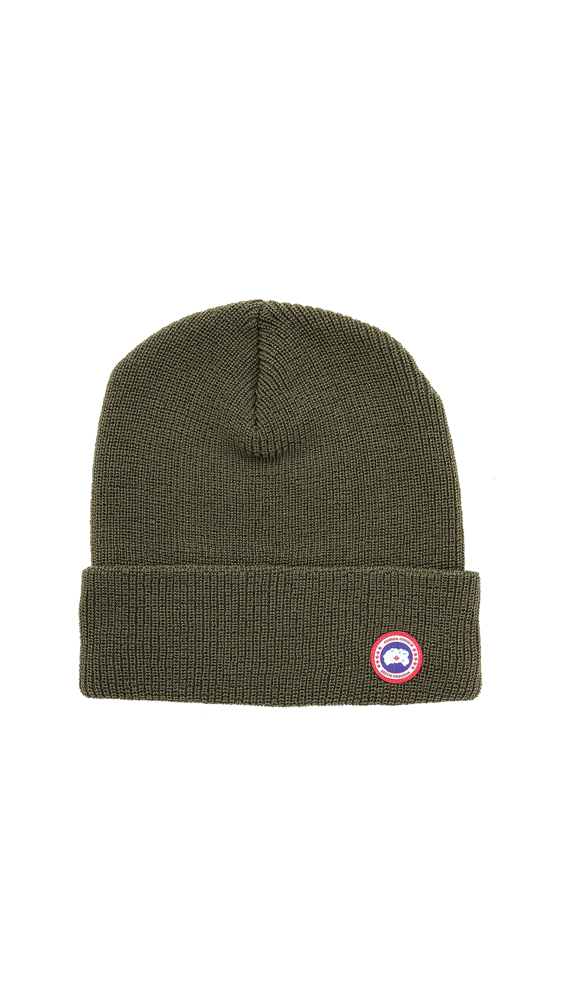 Canada Goose' Basket Weave Slouchy Hat - Military Green