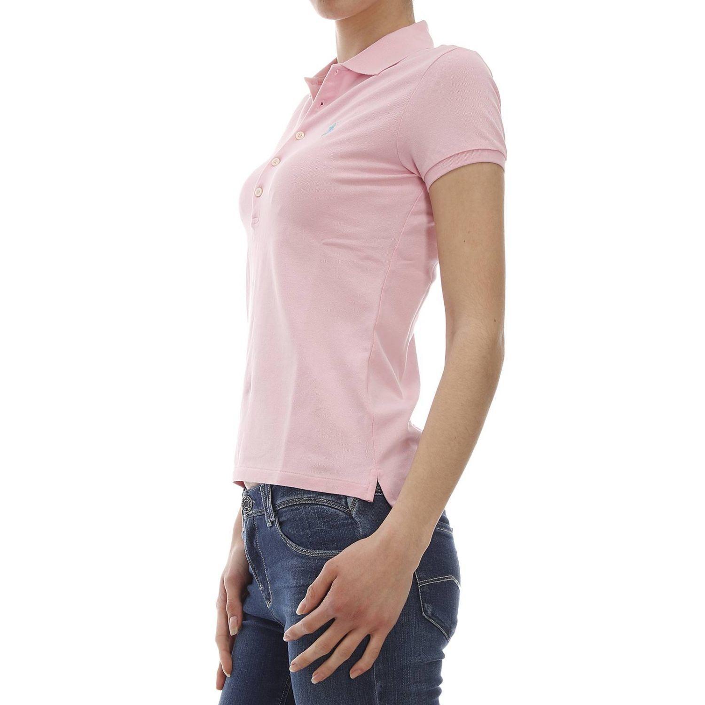 polo ralph lauren t shirt in pink lyst. Black Bedroom Furniture Sets. Home Design Ideas