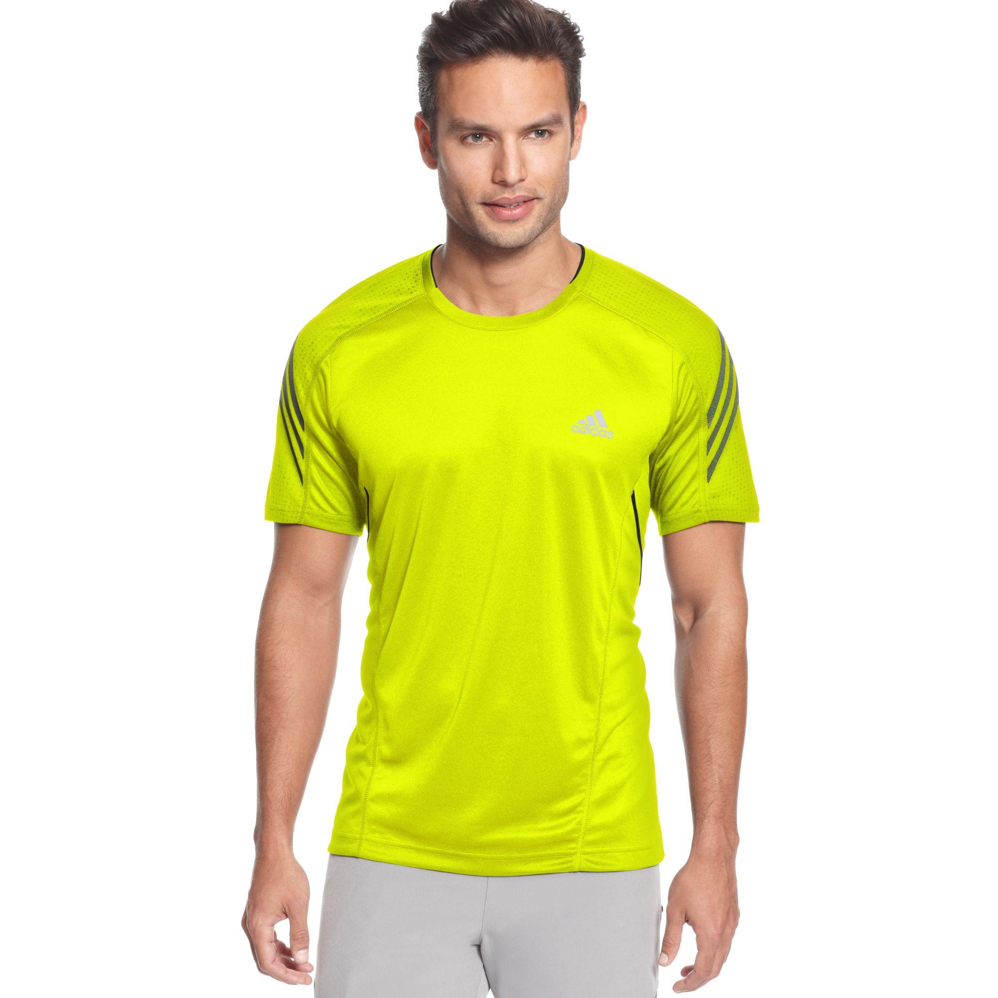 b17caab6b5008 Lyst - adidas Supernova Climacool Short Sleeve Running Tee in Yellow ...
