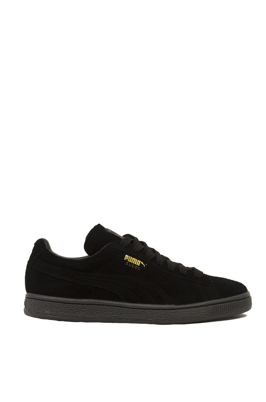 Lyst - PUMA Suede Classic + Mono Iced Sneakers - Black in Black d82f9180a