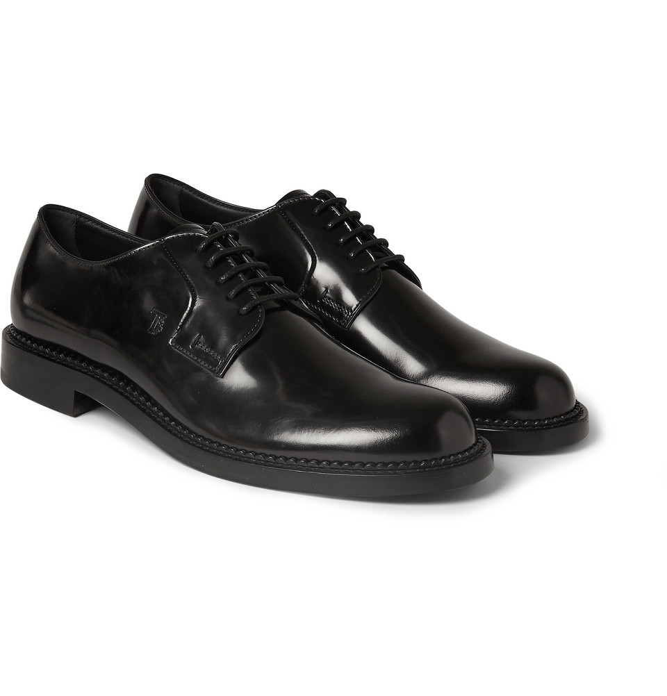 Chaussures Derby En Cuir Tod vrEqE