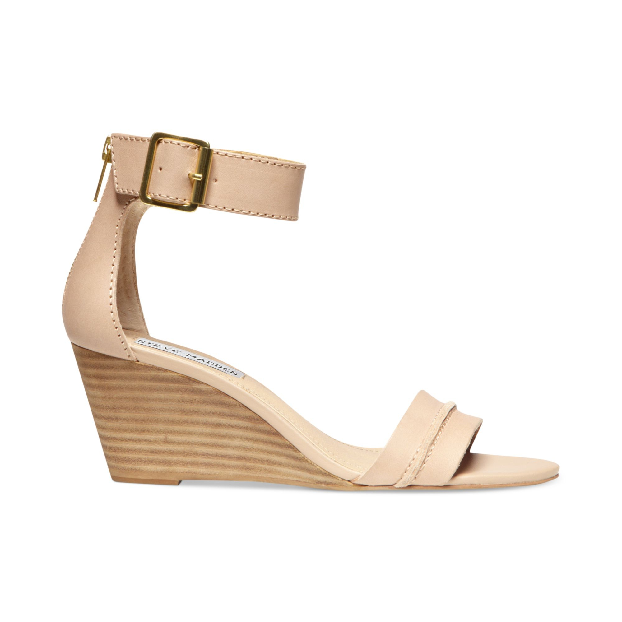 steve madden womens neliee wedge sandals in lyst