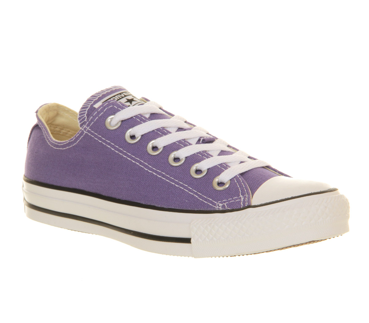 lyst converse all star low in purple. Black Bedroom Furniture Sets. Home Design Ideas