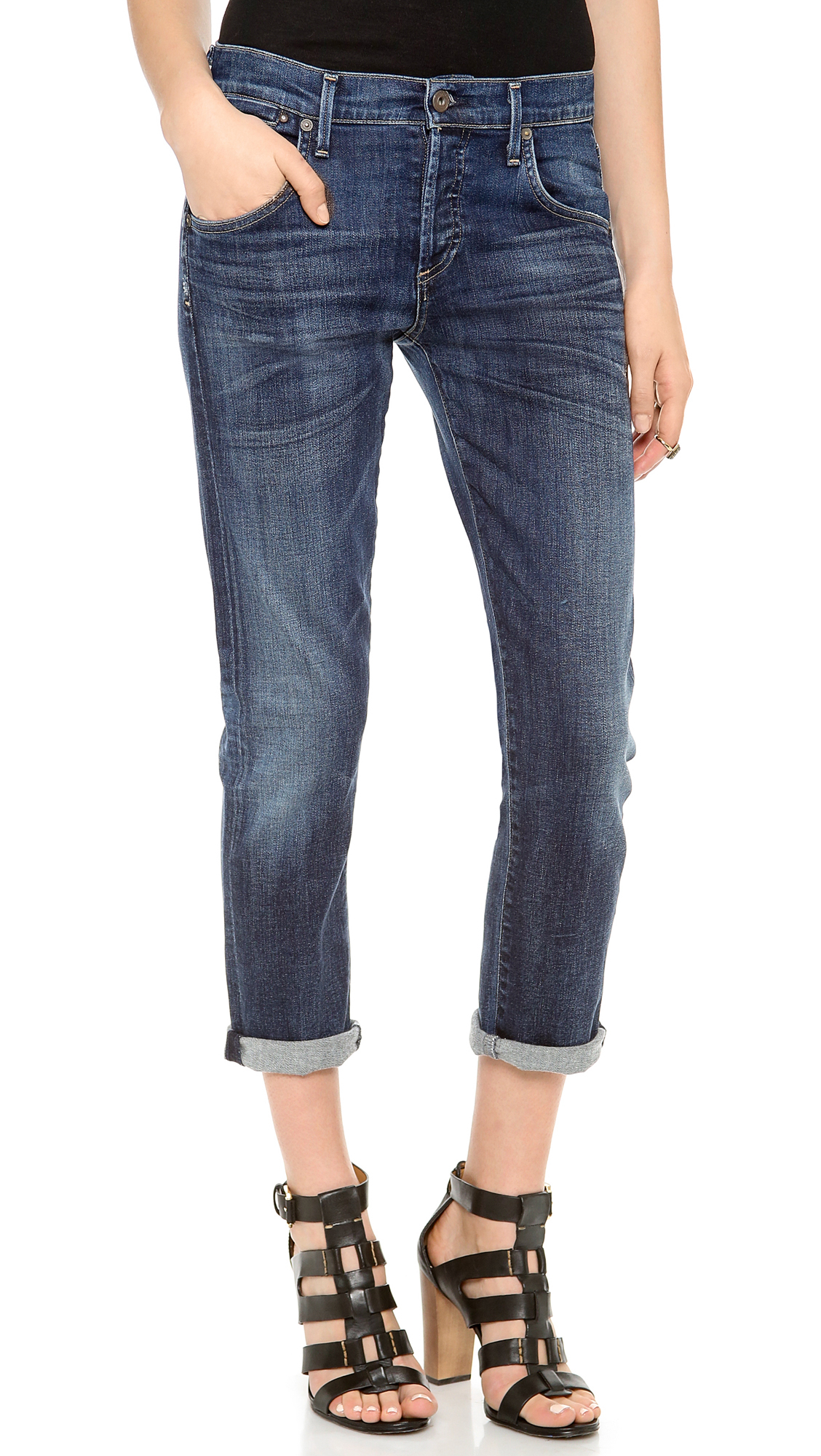 Citizens Of Humanity Premium Vintage Emerson Slim Bf Jeans - Blue Ridge in Blue (Blue Ridge) | Lyst