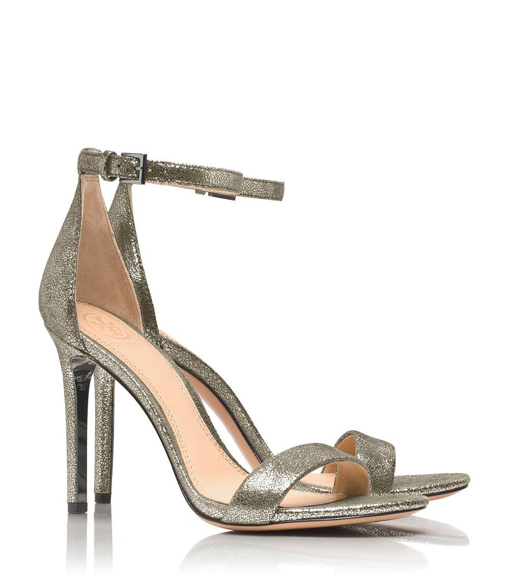 88f423898217 Lyst - Tory Burch Keri Metallic Sandal in Metallic