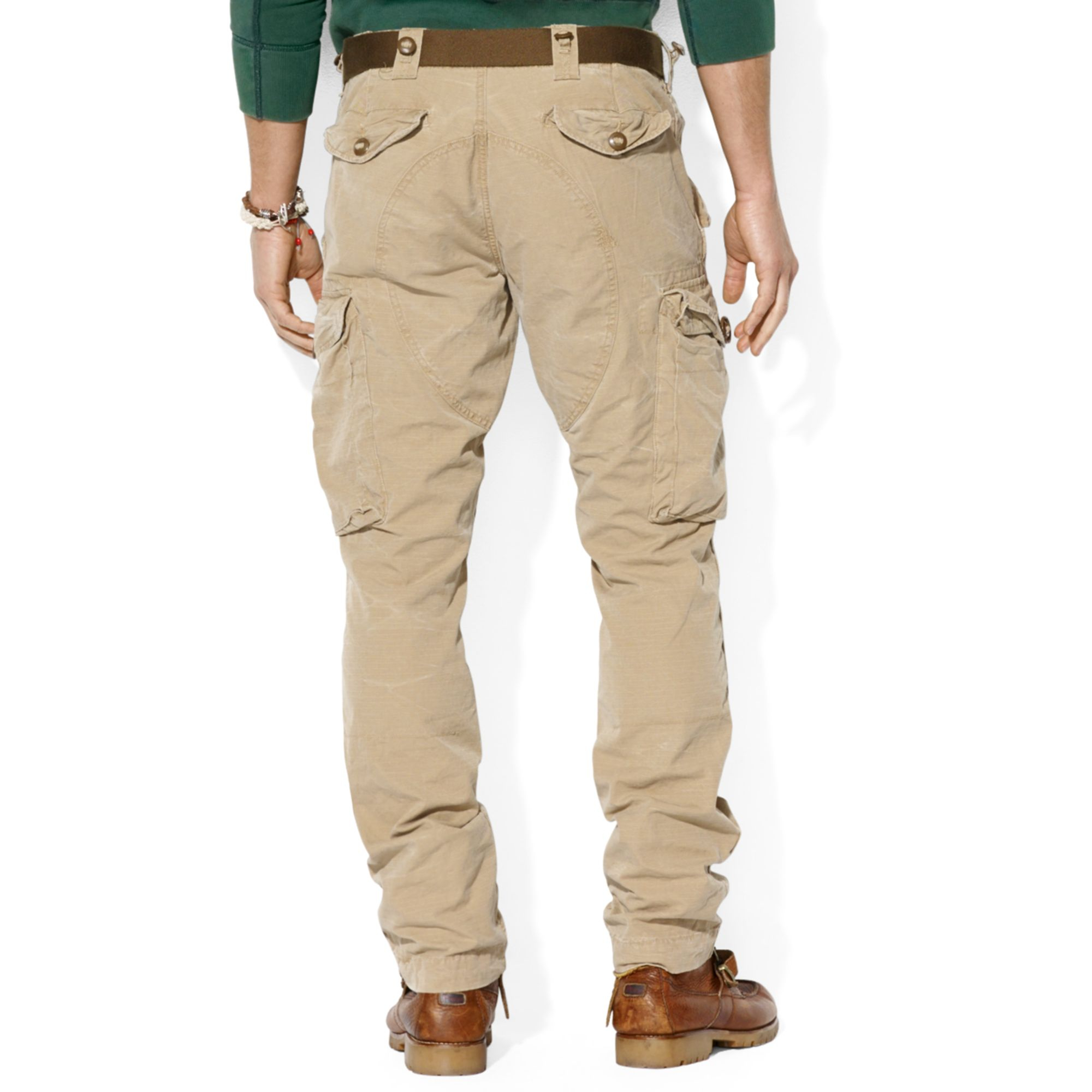 b0e9dcacf Ralph Lauren Polo Straight Fit Canadian Ripstop Cargo Pants in ...