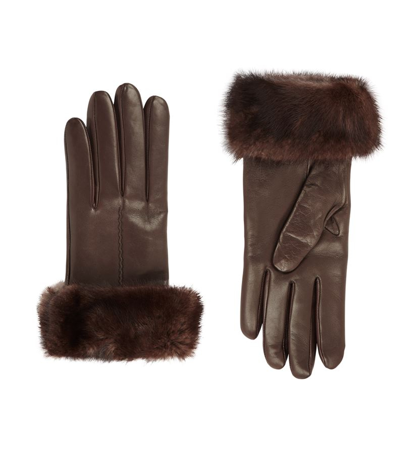 how to clean tanned leather mittens