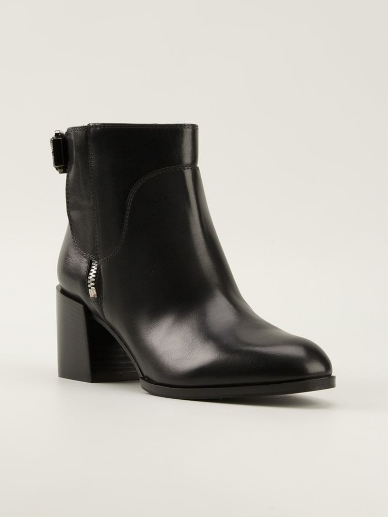 Sergio Rossi Patent Leather Ankle Boots NDQG0M0o7O