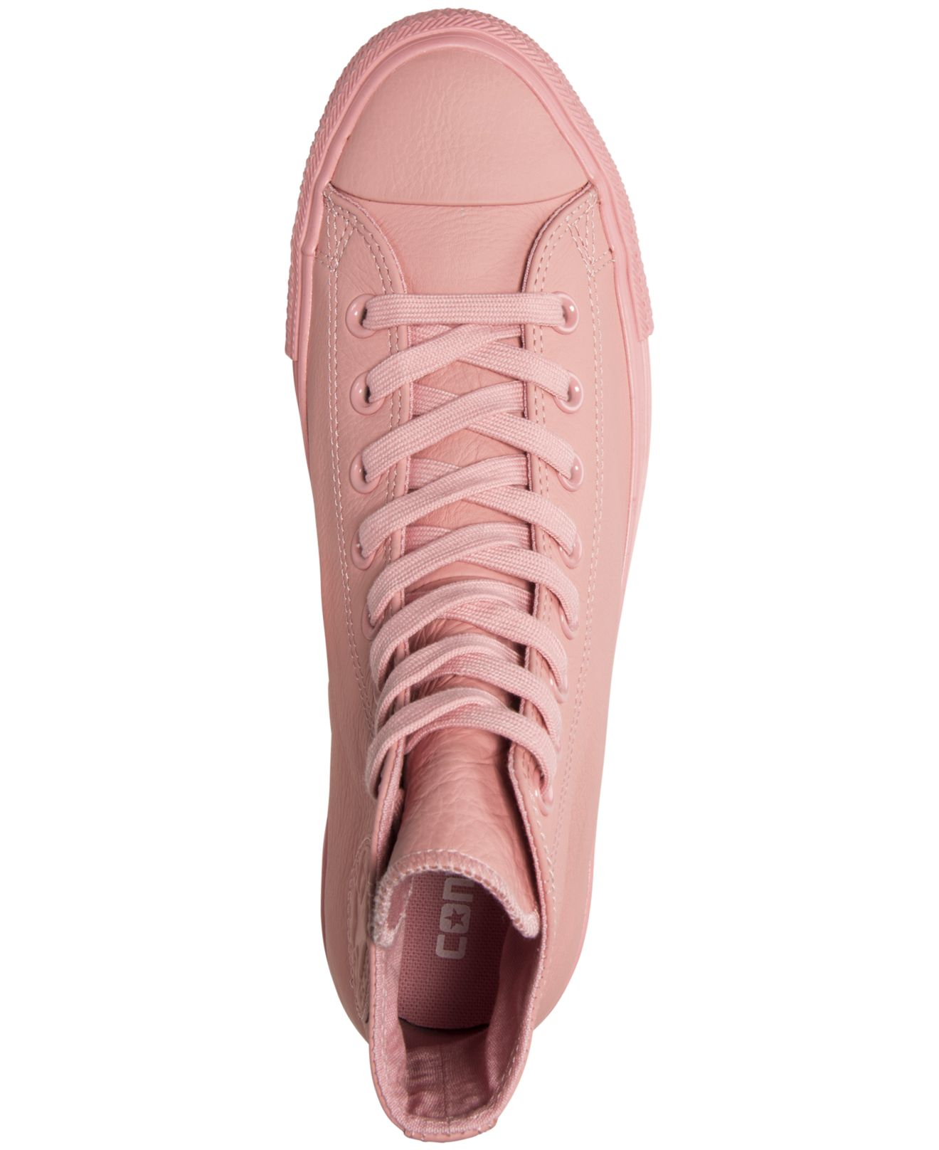 78debec060aa Lyst - Converse Women s Chuck Taylor Hi Pastel Leather Casual ...