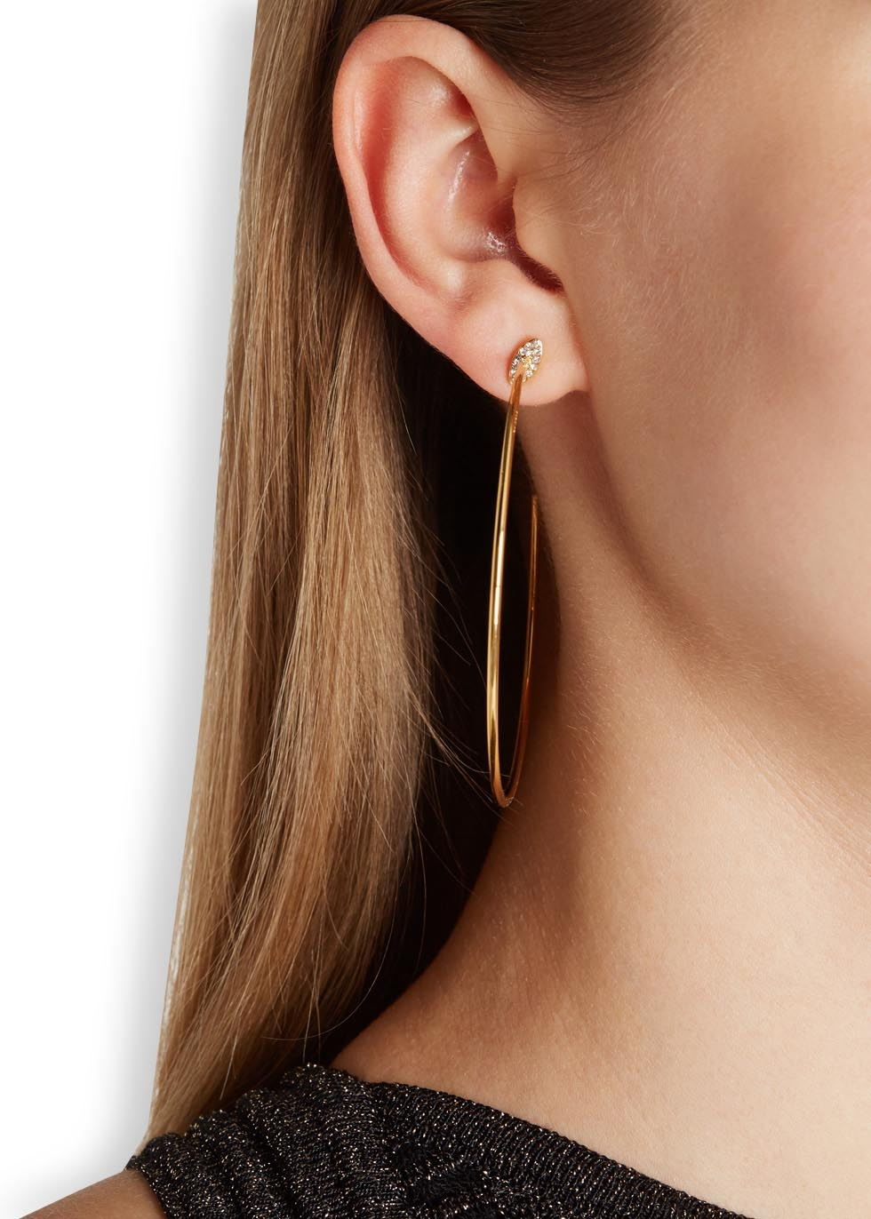 Vita Fede Sfera Hoop Earrings iwt8w7C