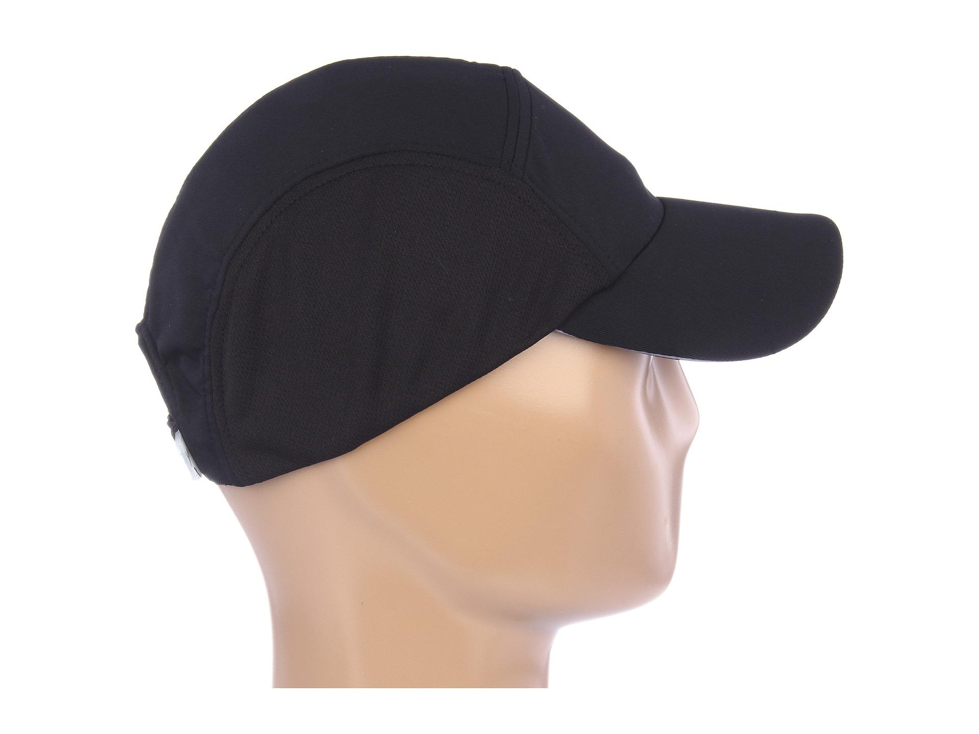 094f596d2fec4 PUMA Lightweight Performance Apex Running Cap in Black for Men - Lyst
