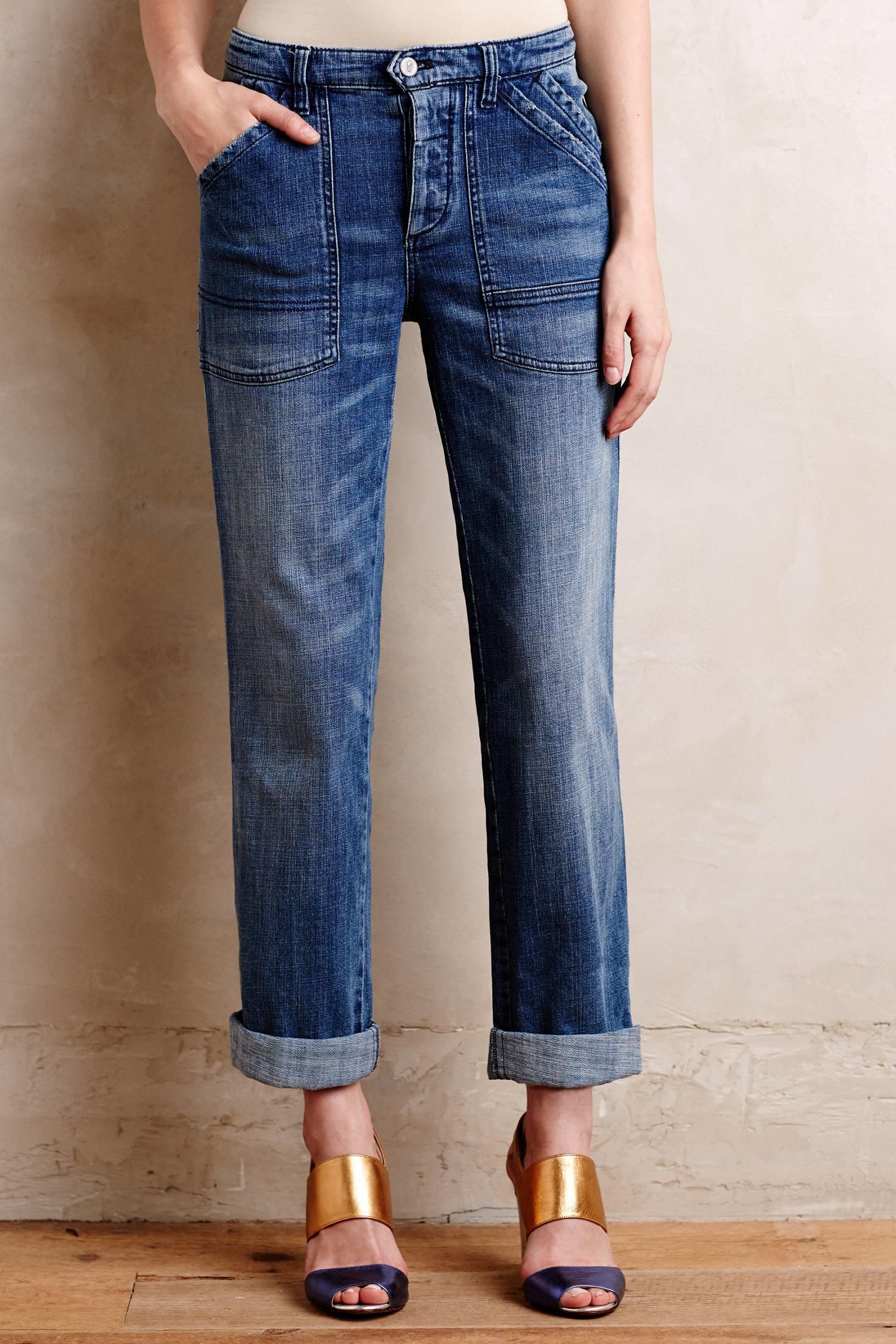 Pilcro Folio Jeans In Blue Lyst