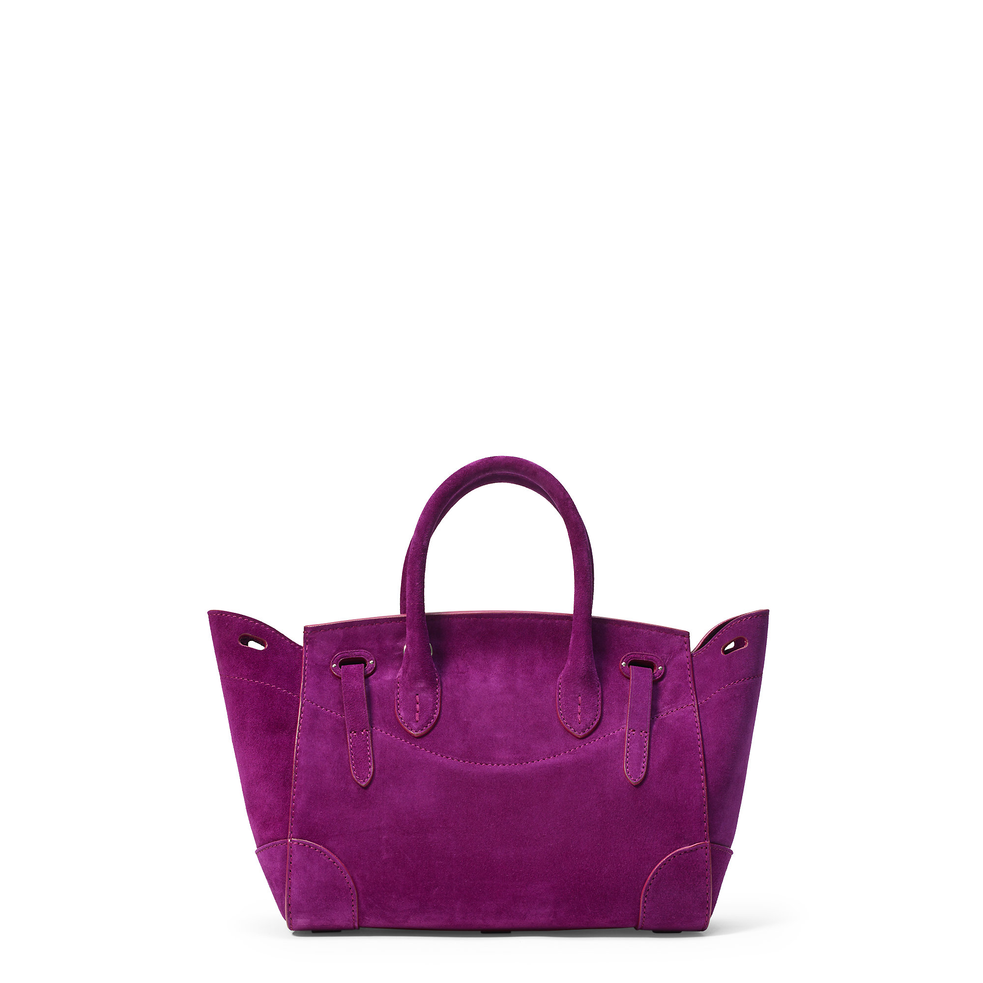 Lyst - Pink Pony Small Suede Soft Ricky Bag in Purple b61d7e2facc30