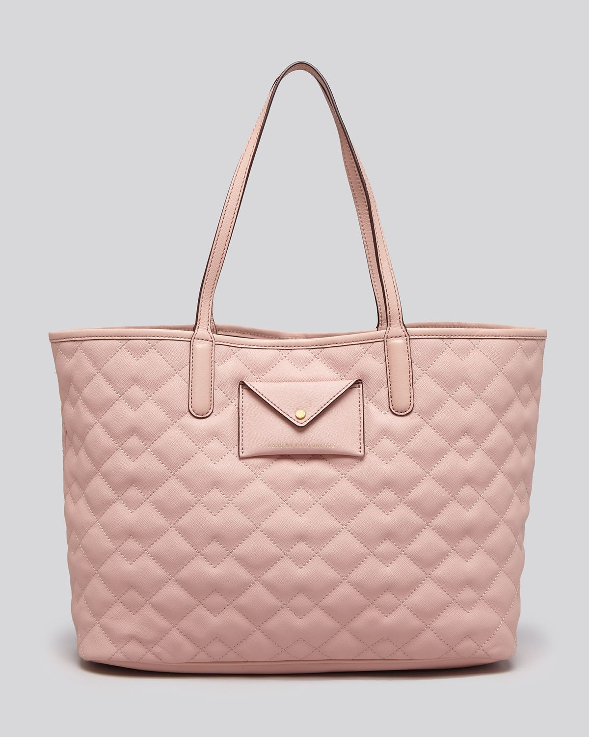 Lyst - Marc by marc jacobs Tote - Quilted Metropolitote 48 in Pink : marc by marc jacobs quilted tote - Adamdwight.com