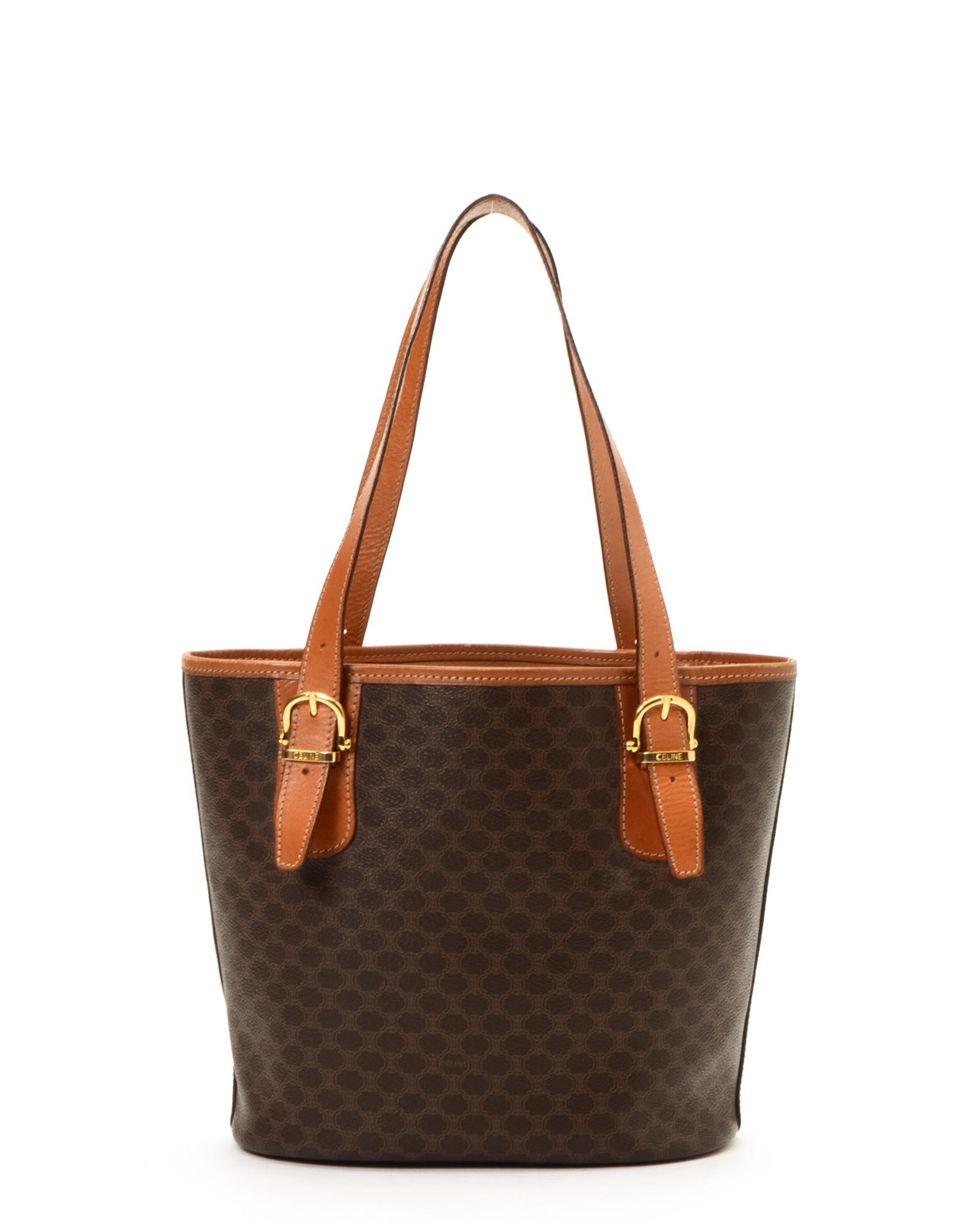 Lyst - Céline Cã‰Line Brown Tote Bag - Vintage in Brown 304e1c7048965