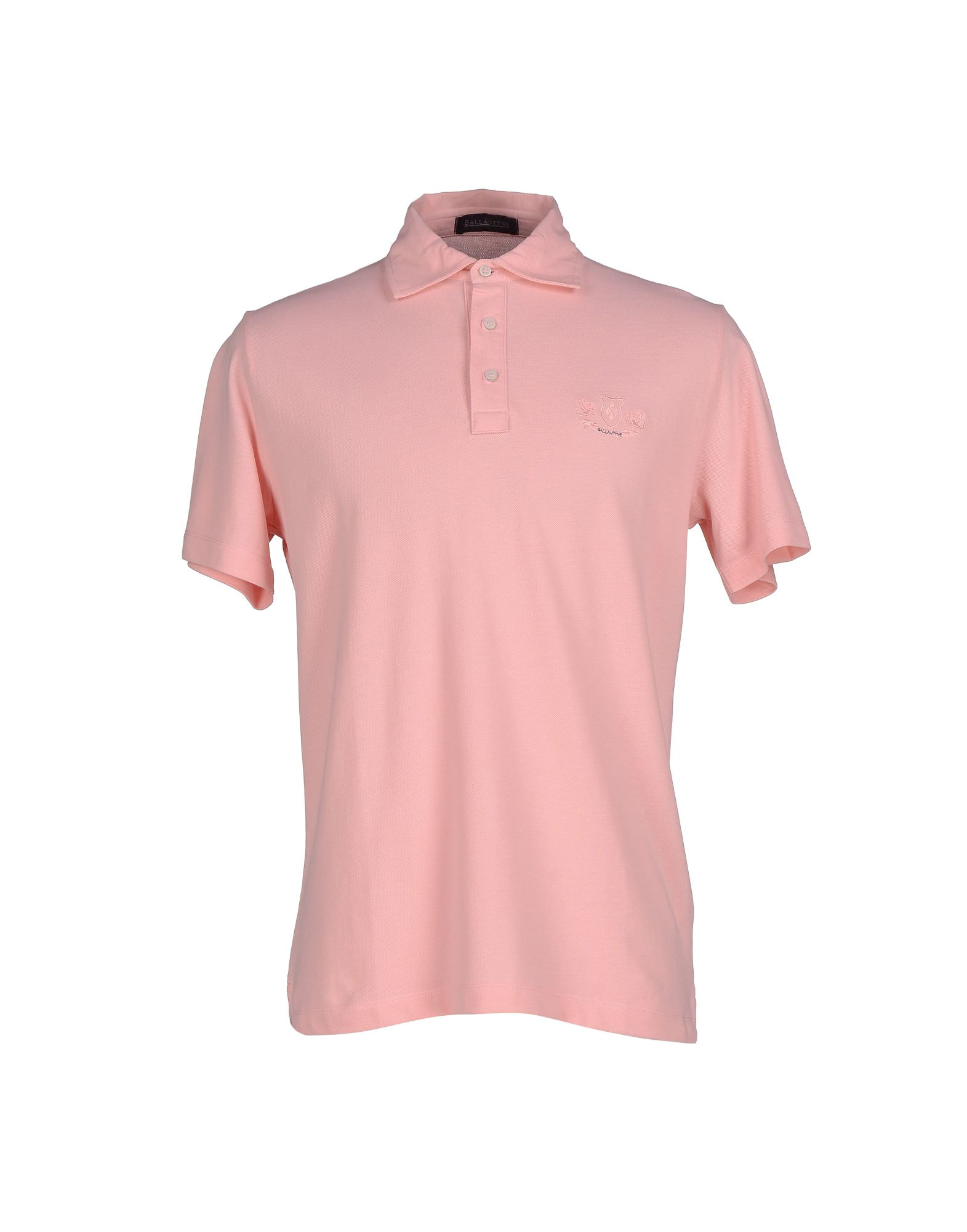 Ballantyne Polo Shirt In Pink For Men Lyst