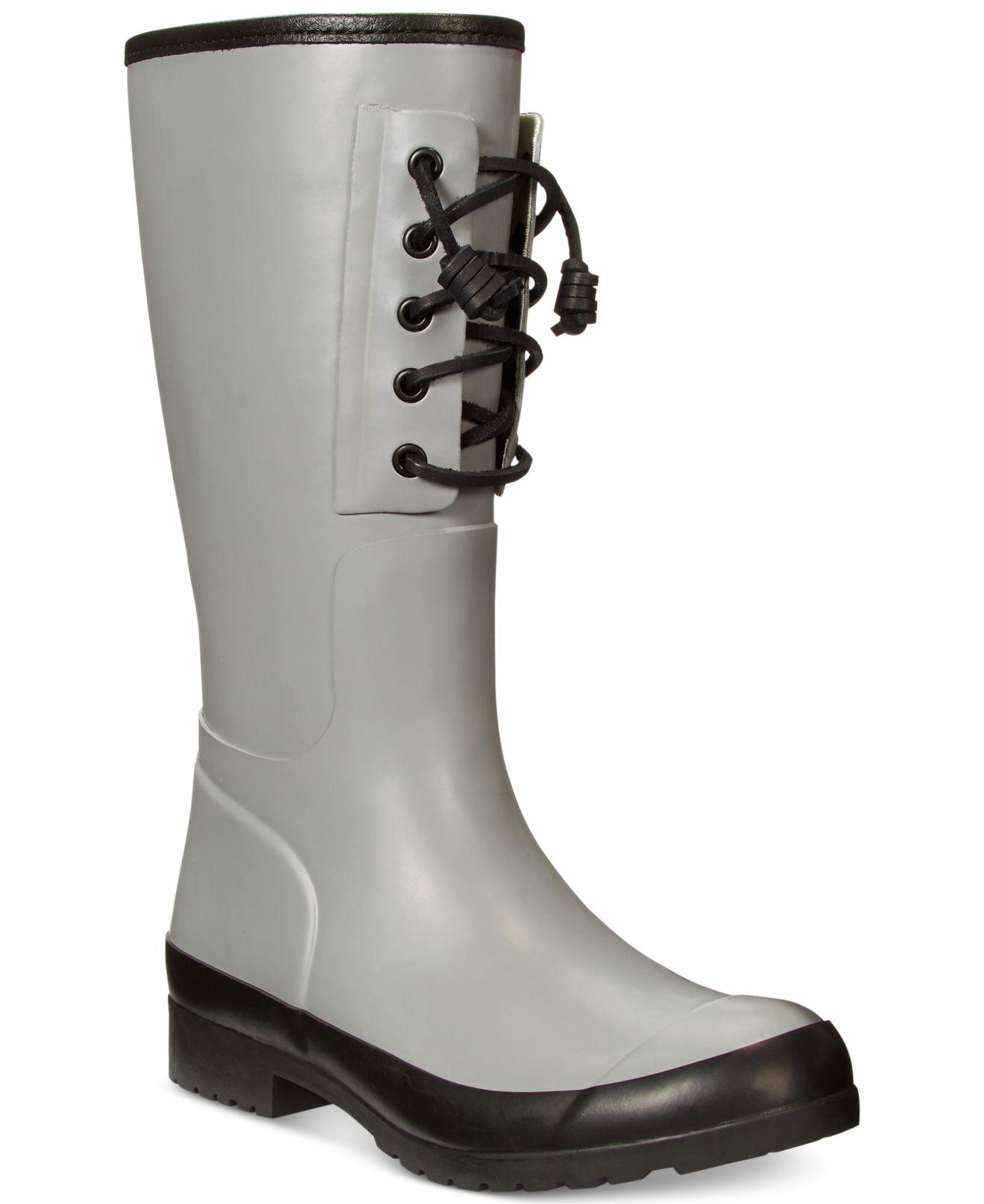 Sperry top-sider Women's Walker Spray Rain Boots in Gray | Lyst