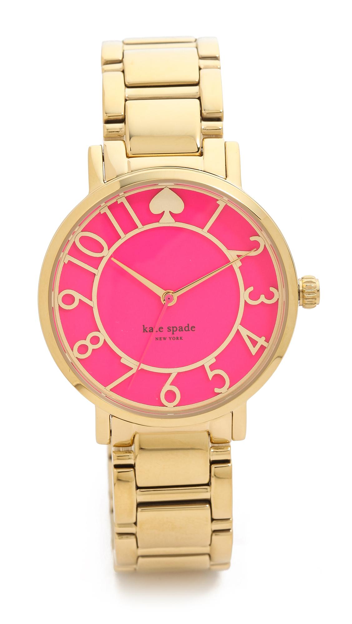 Lyst Kate Spade New York Gramercy Bracelet Watch In Metallic