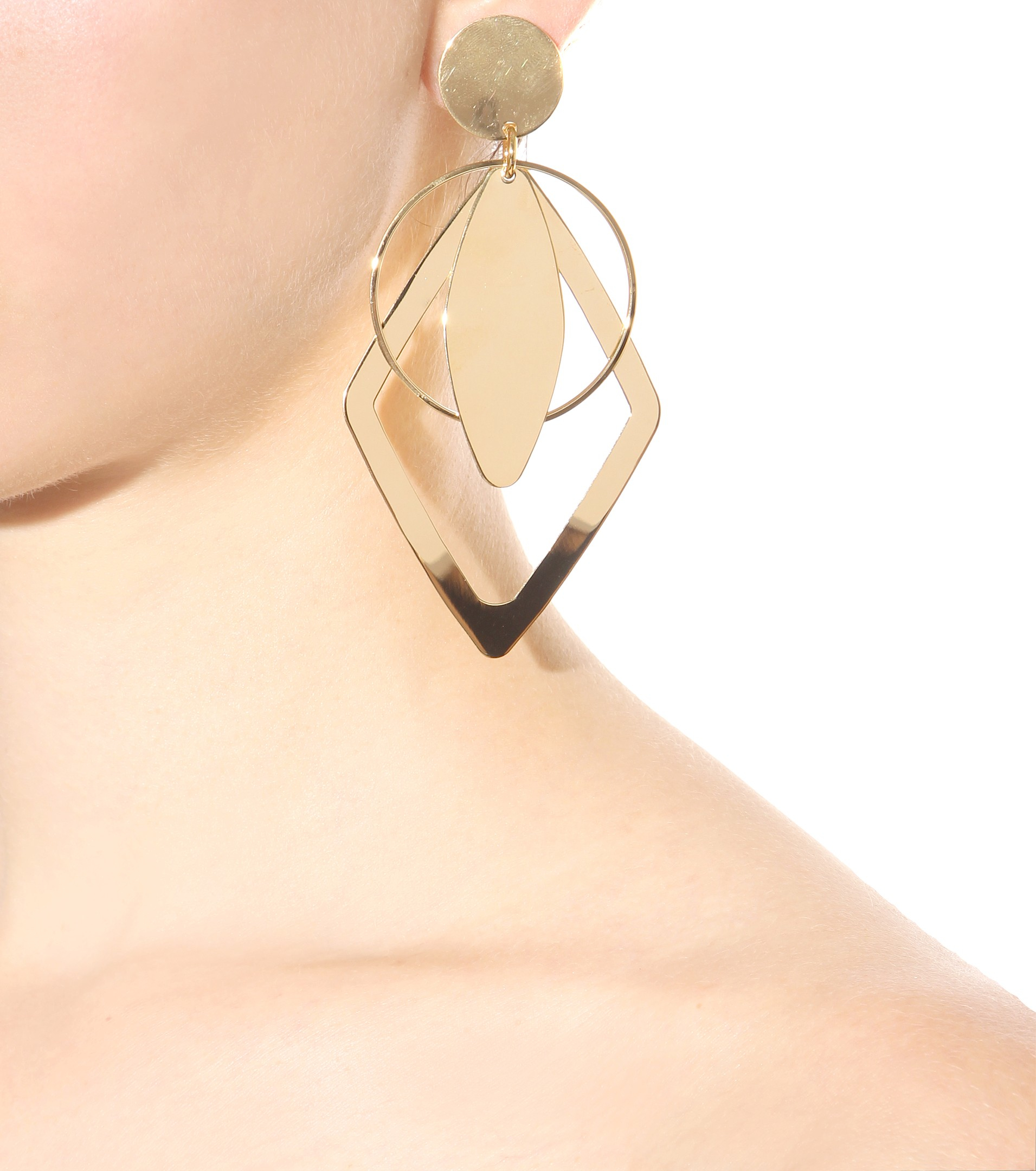 Stella McCartney Crystal-embellished earrings FxTMPro92S