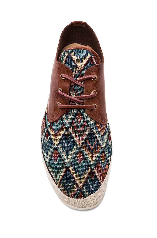 Lyst Scotch Amp Soda Straw Shoe W Leather For Men