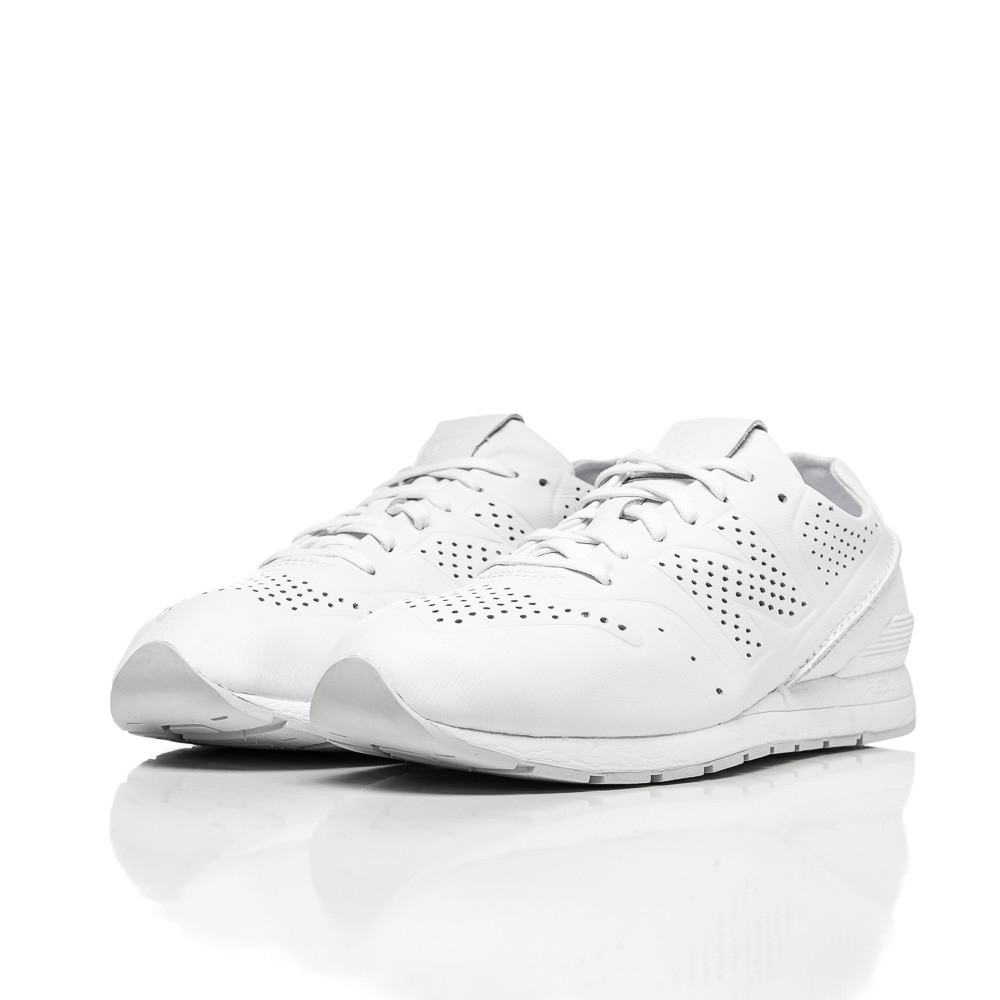 88002d6dbaa4 Lyst - New Balance Mrl696 Deconstructed Leather In White in White ...