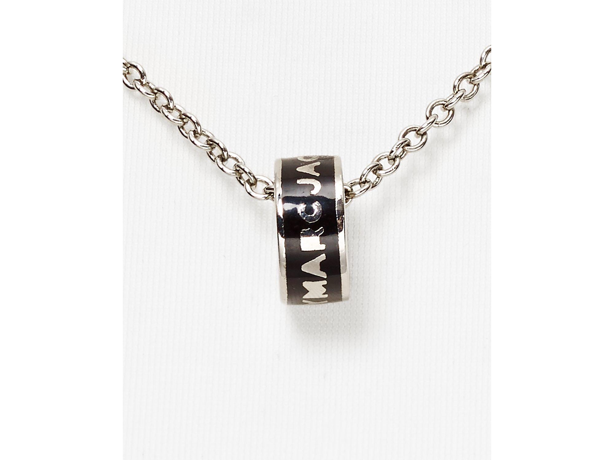 logo pendant bracelet - Metallic Marc Jacobs ucvZbc